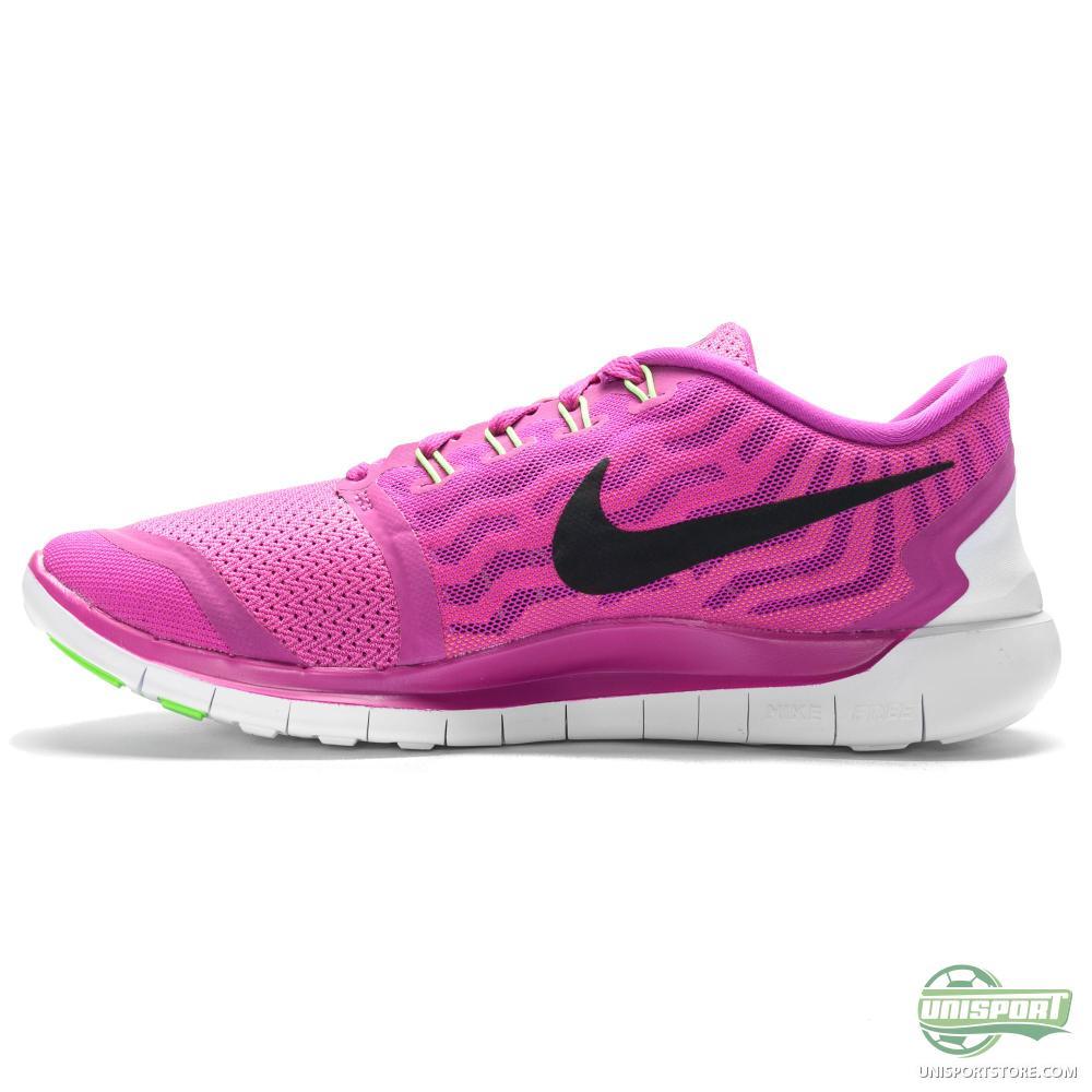 Nike Free - Running Shoe 5.0 Fuchsia Flash/Black/Pink Pow ...
