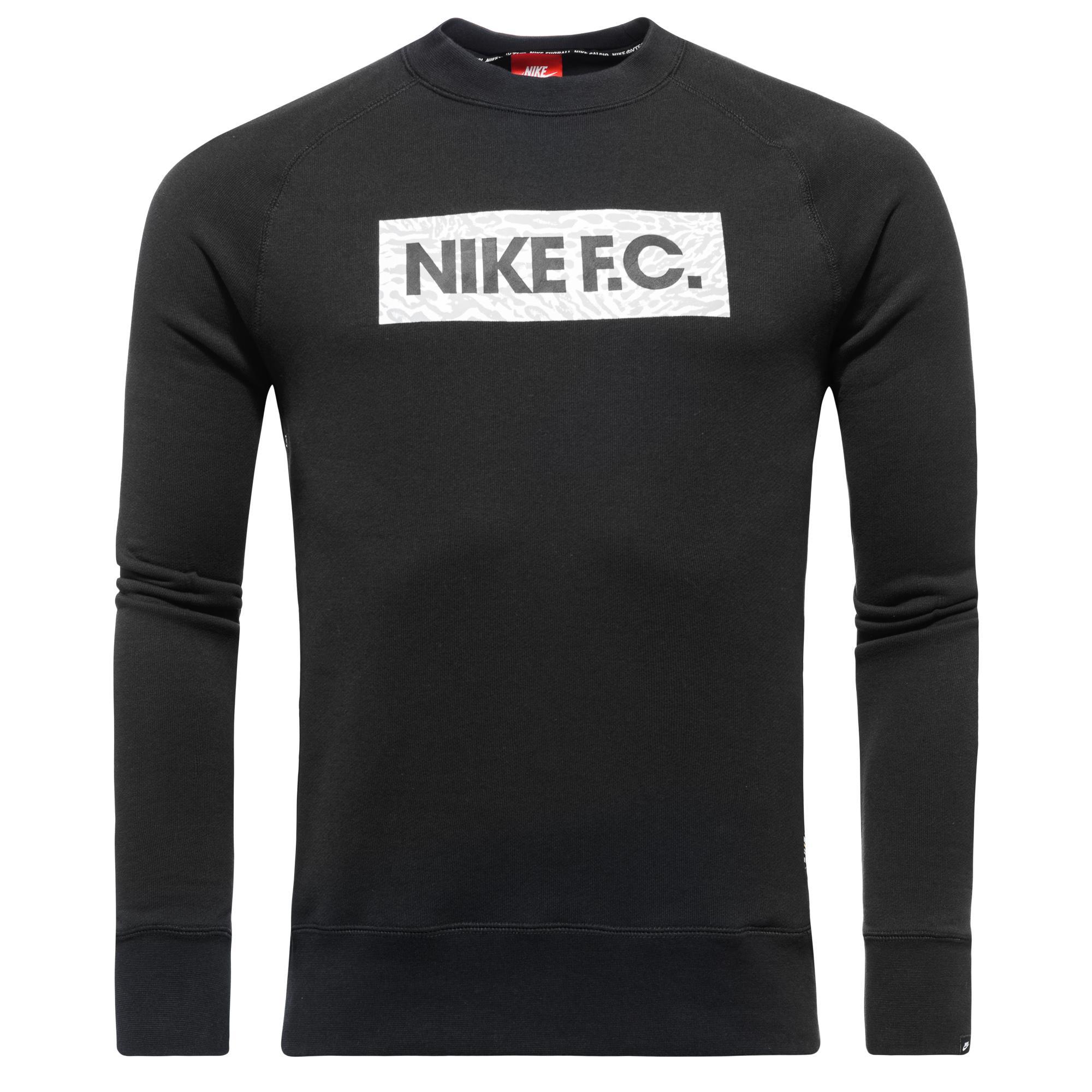 Nike F.C. Sweatshirt AW77 LS Crew Svart
