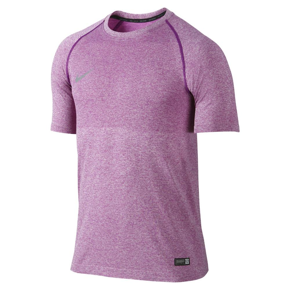 Nike Tränings T-Shirt Select Seamless Lila/Grå