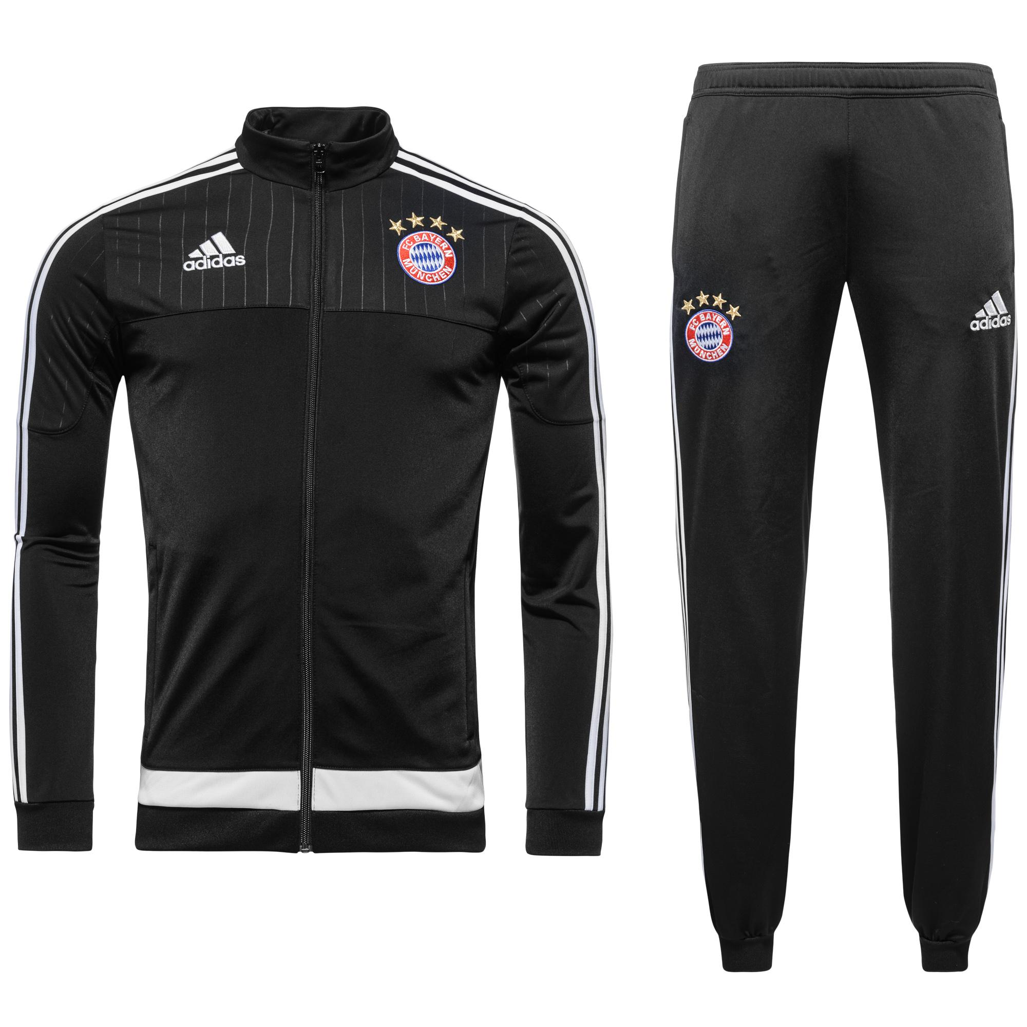Bayern München Träningsställ Svart/Vit Barn