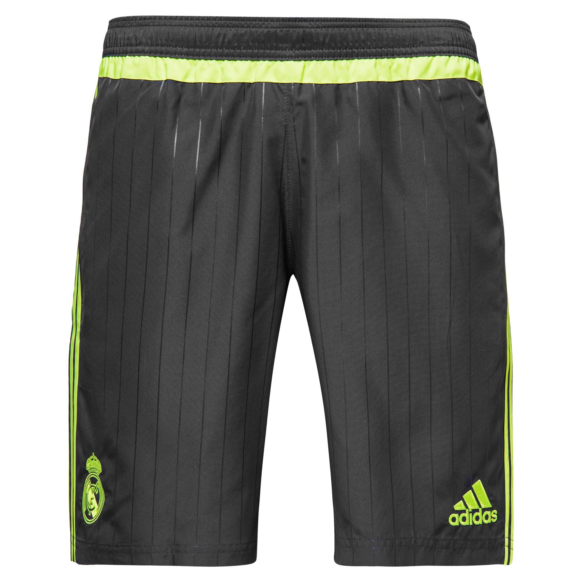 Real Madrid Shorts Woven Navy/Gul