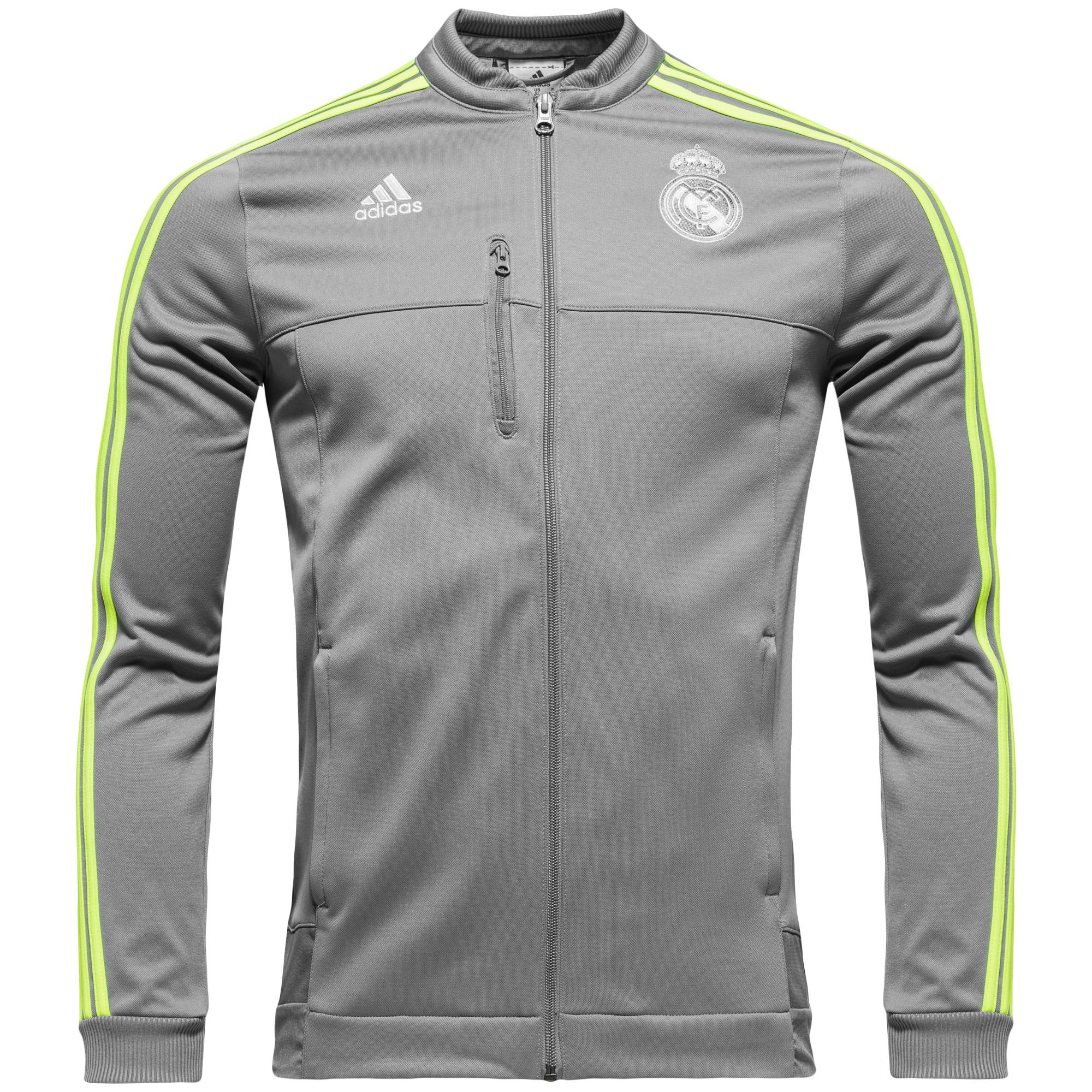 Real Madrid Jacka Anthem Grå/Gul Barn