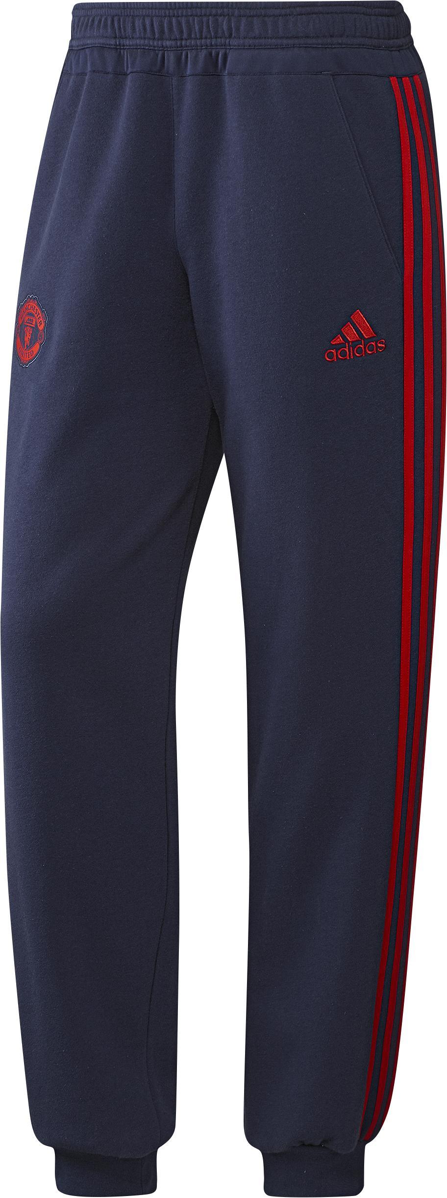 Manchester United Träningsbyxor Sweat Navy/Röd