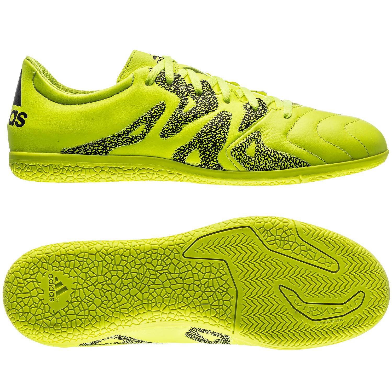 adidas X 15.3 Läder IN Gul/Svart