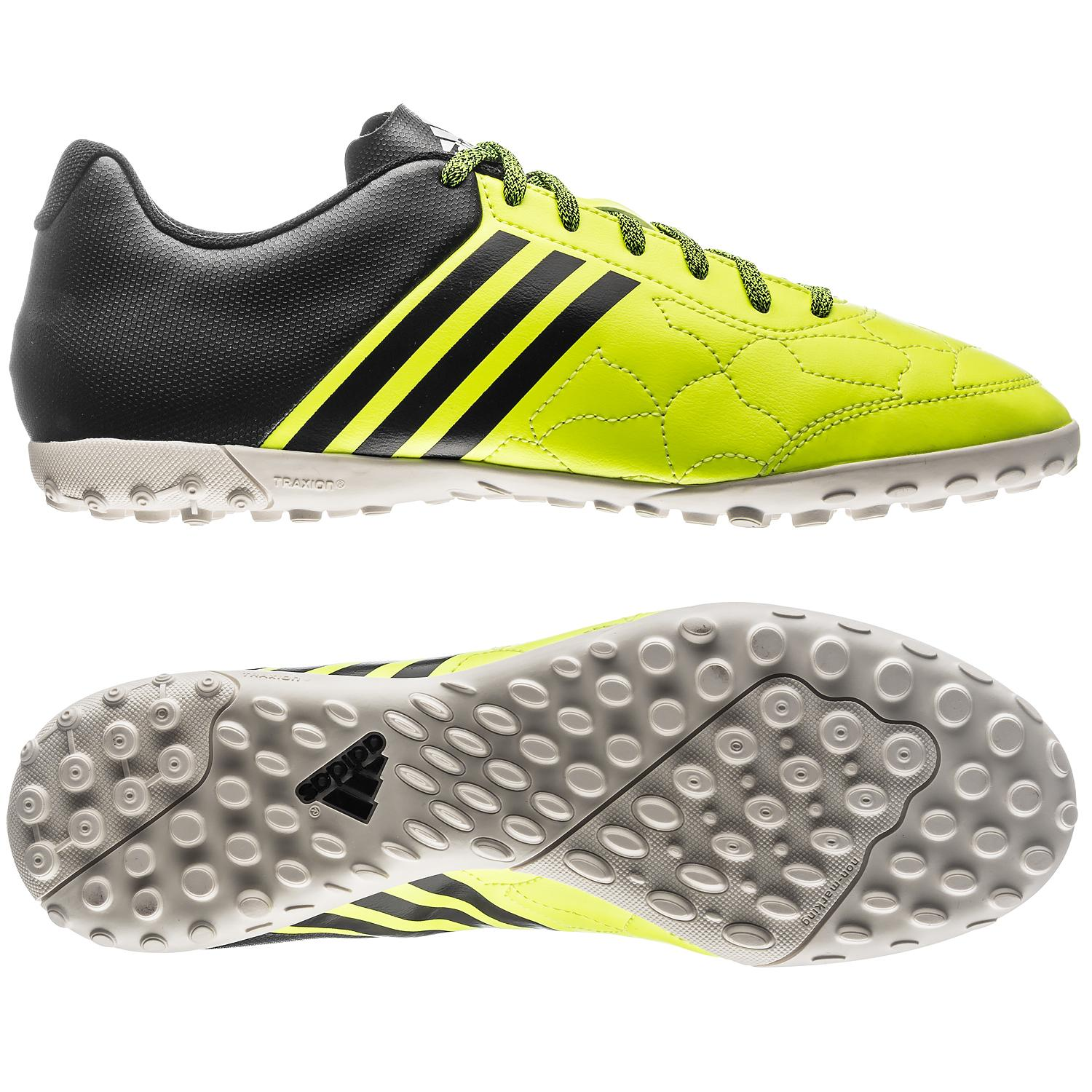 adidas Ace 15.3 Cage TF Gul/Sort