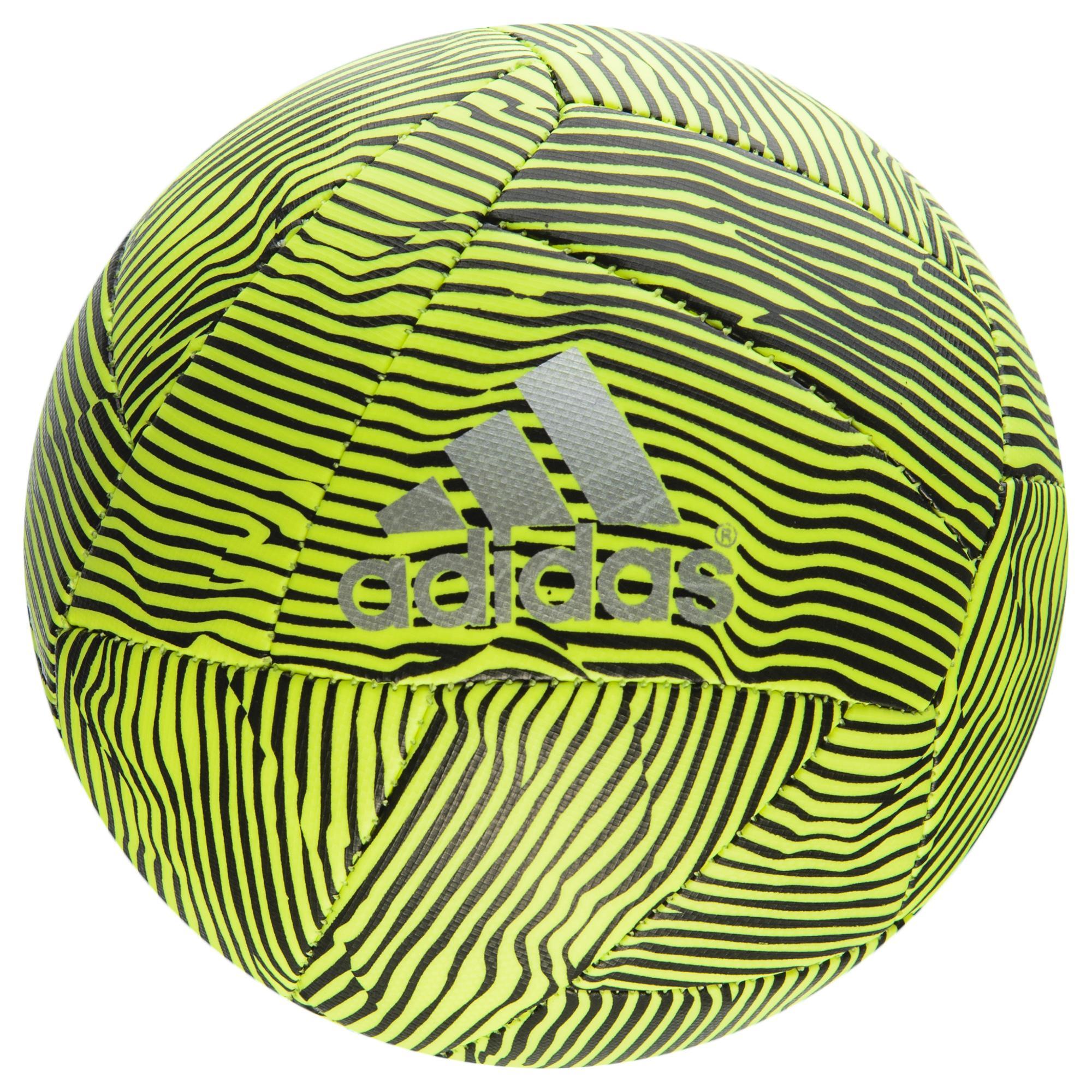 adidas Fotboll X Mini Gul/Svart