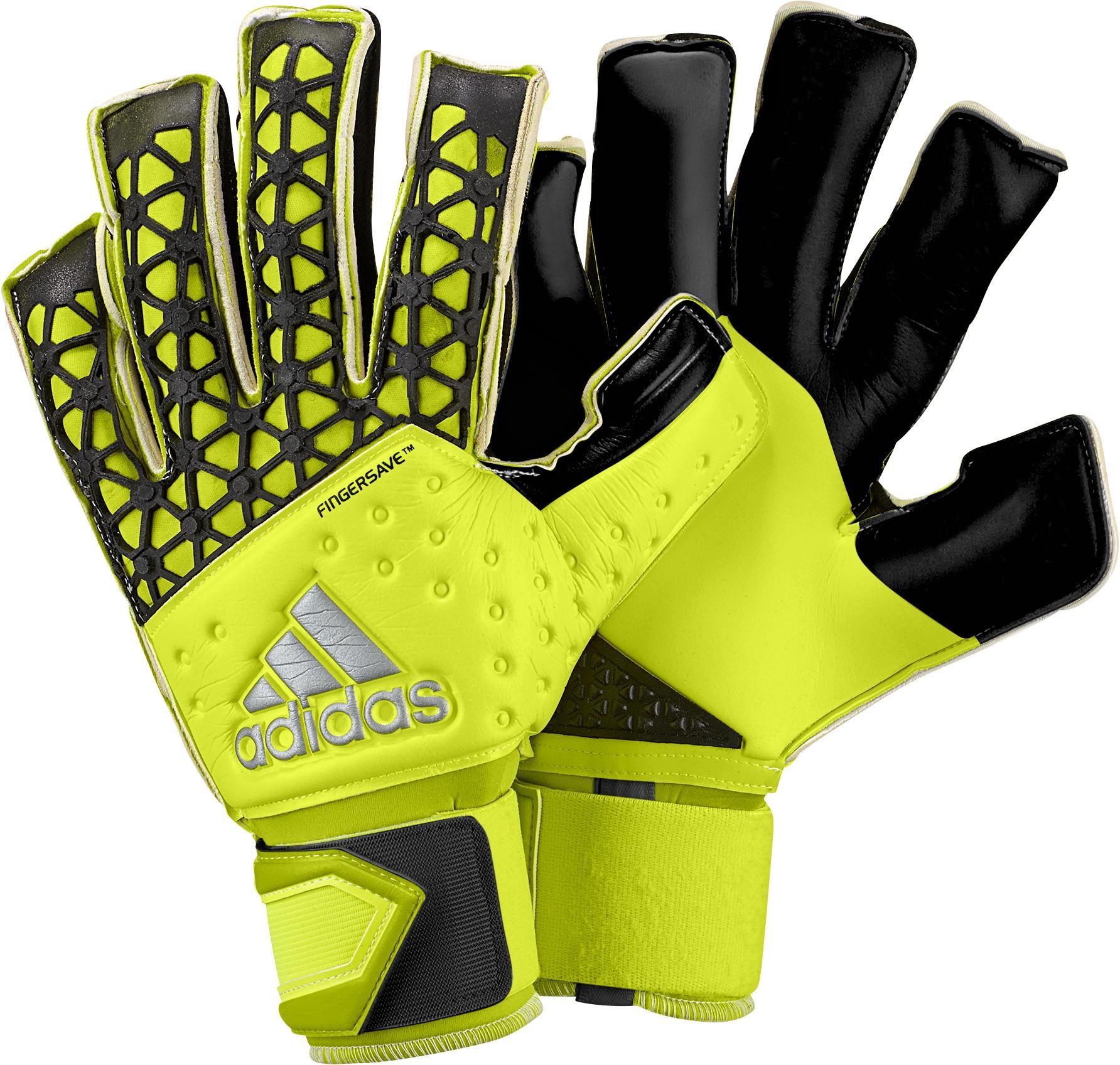 adidas Målvaktsshandske Ace Zones Allround Fingersave Gul/Svart
