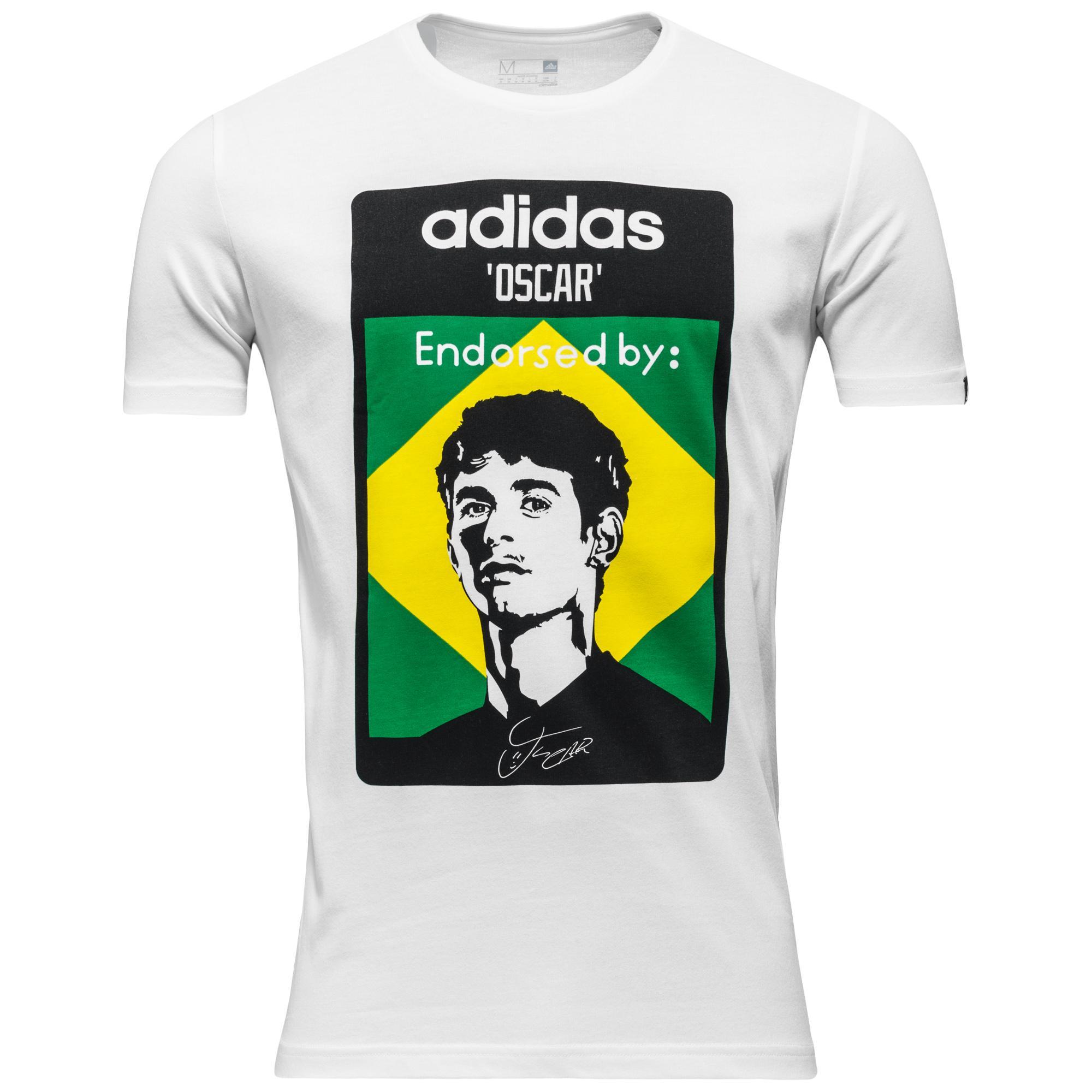adidas T-Shirt Oscar Vit