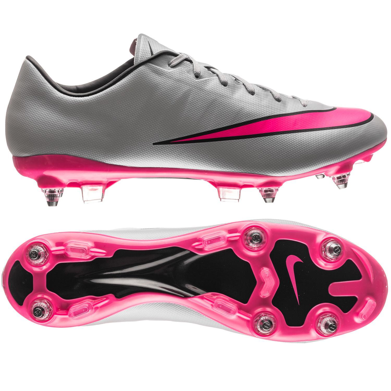hot sale online 36871 dd9c5 Nike Mercurial Veloce II SG-PRO Grå Pink Svart