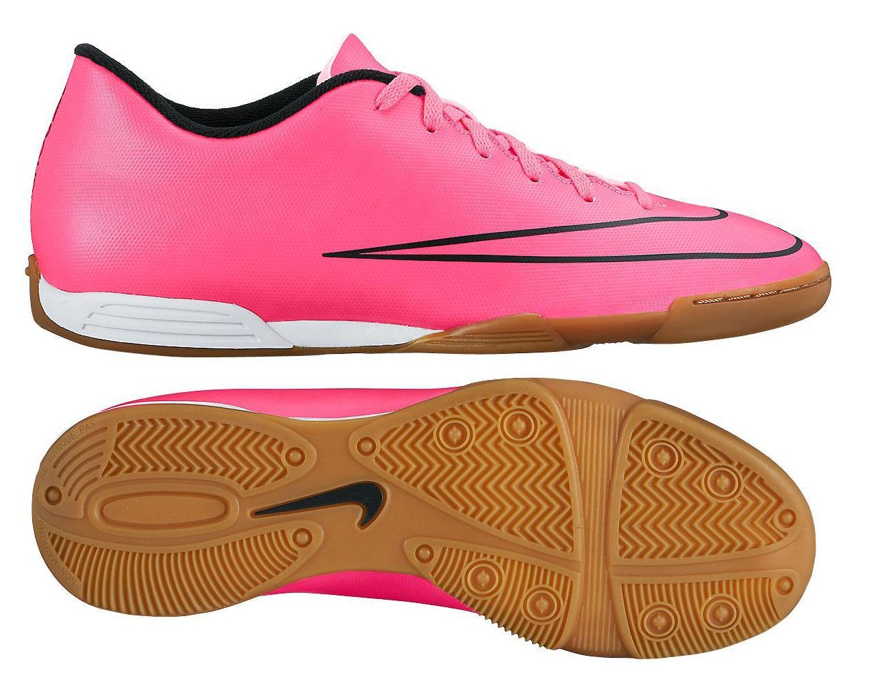 Nike Mercurial Vortex II IC Pink/Svart