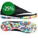 Nike - MercurialX Finale Street IC Svart/Vit/Neon