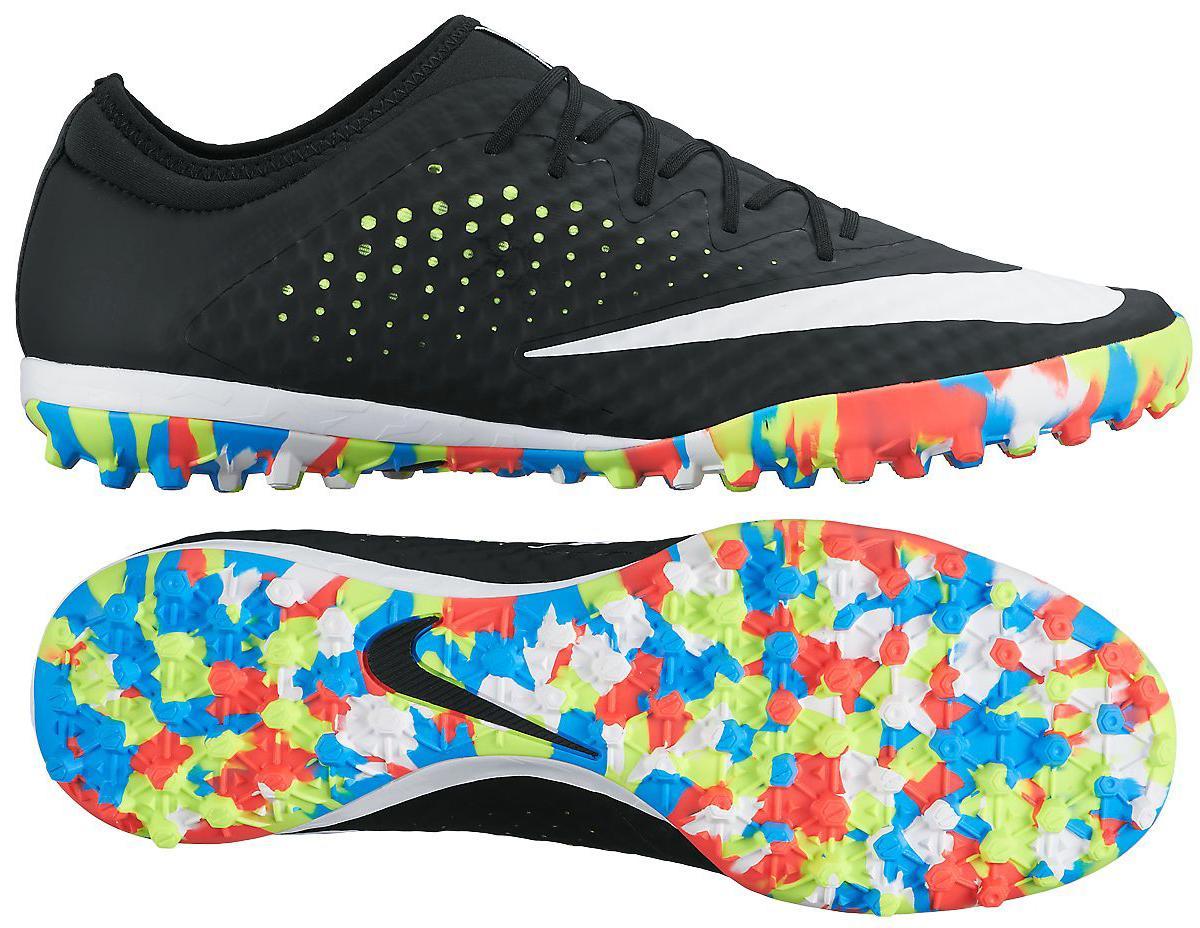 Nike MercurialX Finale Street TF Svart/Vit/Neon