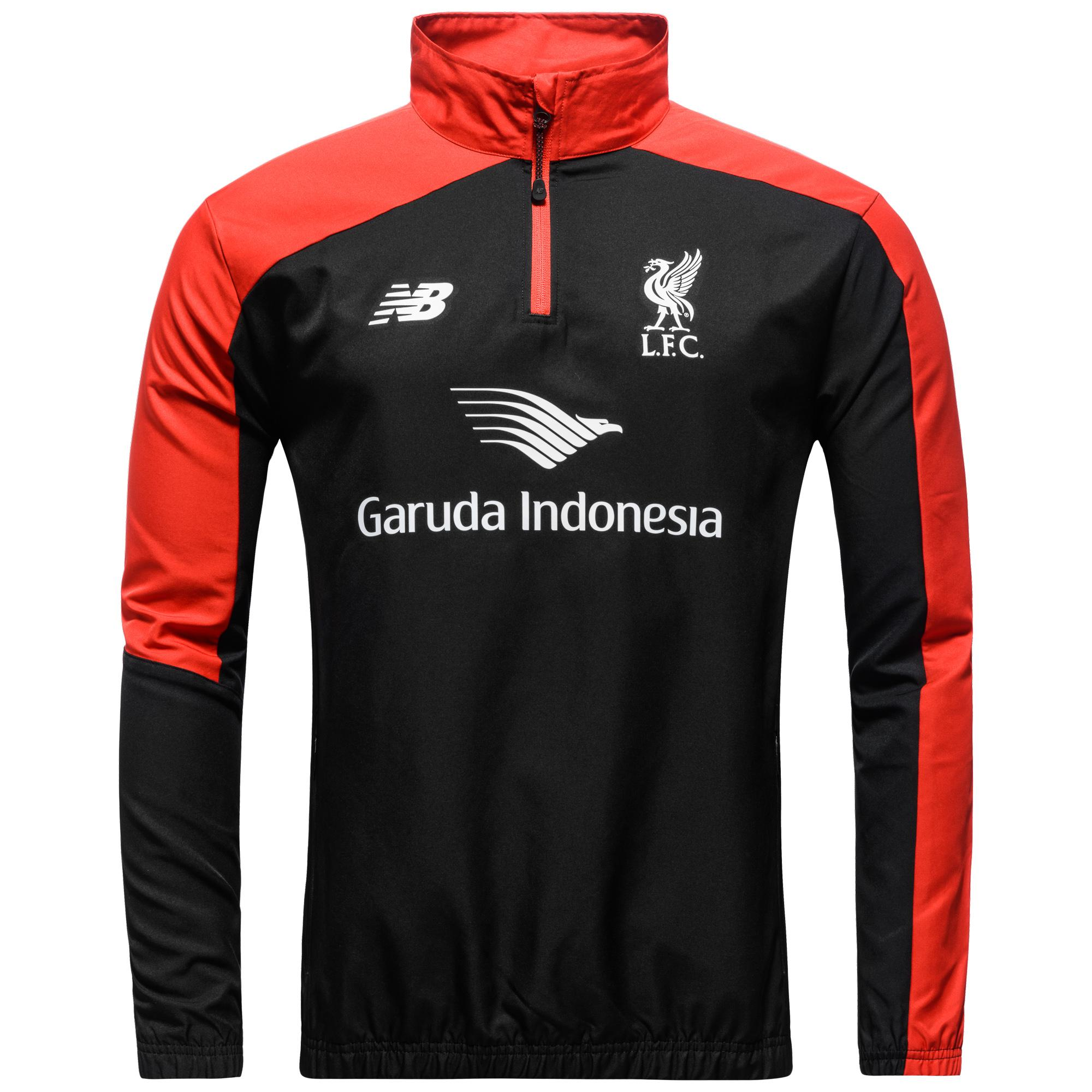 Liverpool Windbreaker Svart/Röd