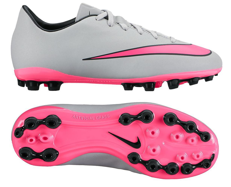Nike Mercurial Victory V AG Grå/Pink/Svart Barn
