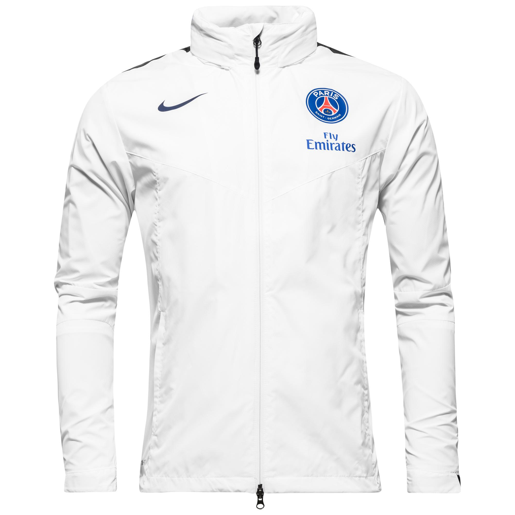 Paris Saint Germain Regnjacka Storm-FIT Vit/Navy