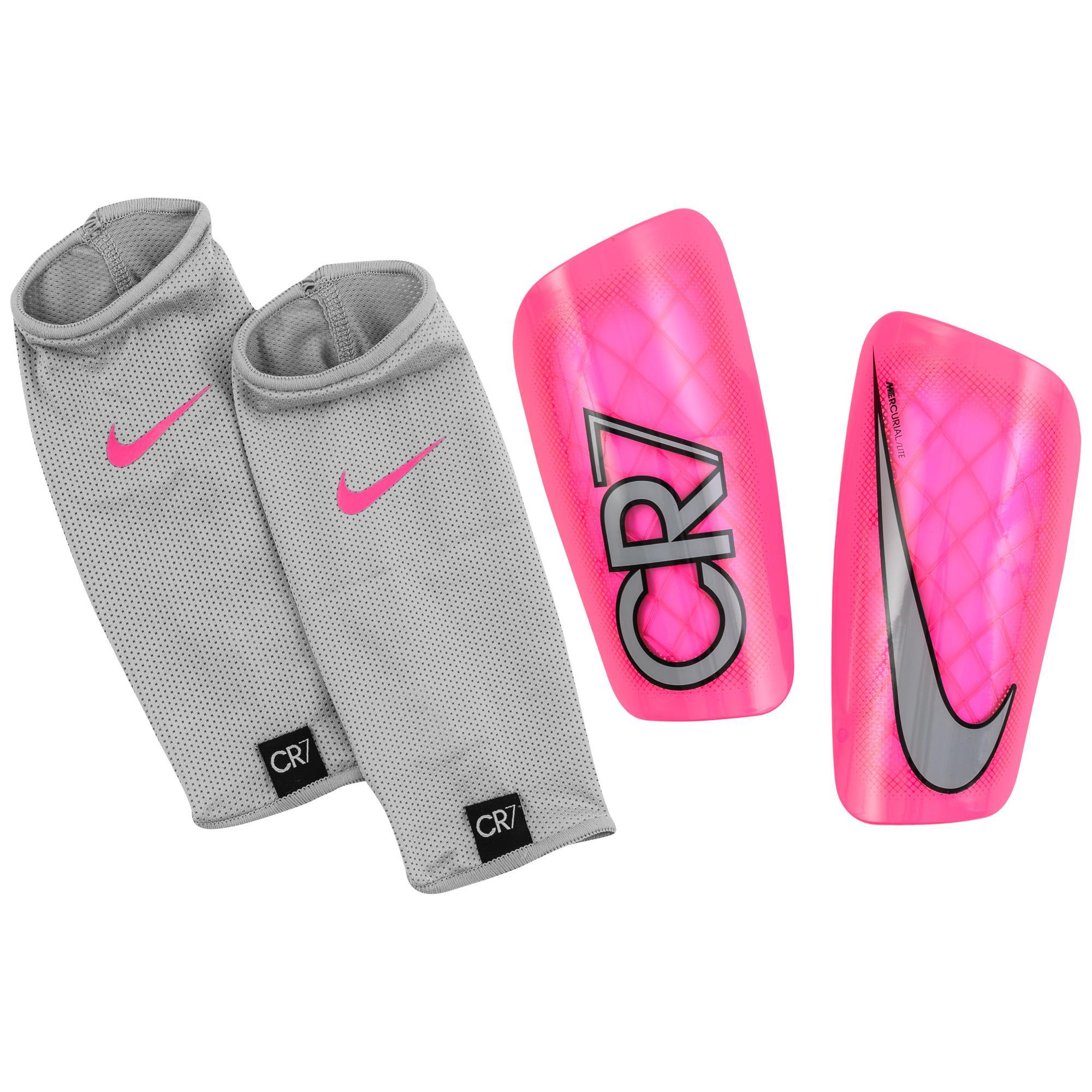 Nike Benskydd Mercurial Lite CR7 Rosa/Grå