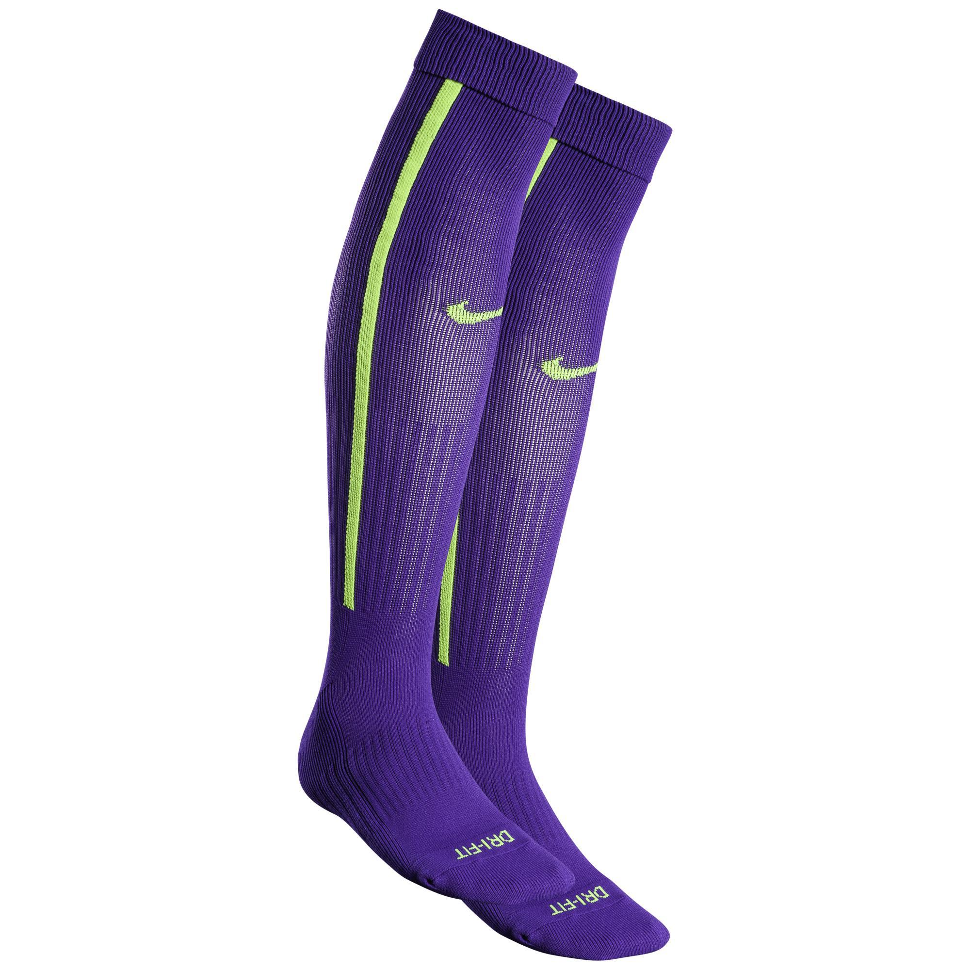 Nike Fotbollsstrumpor Vapor III Lila/Neon