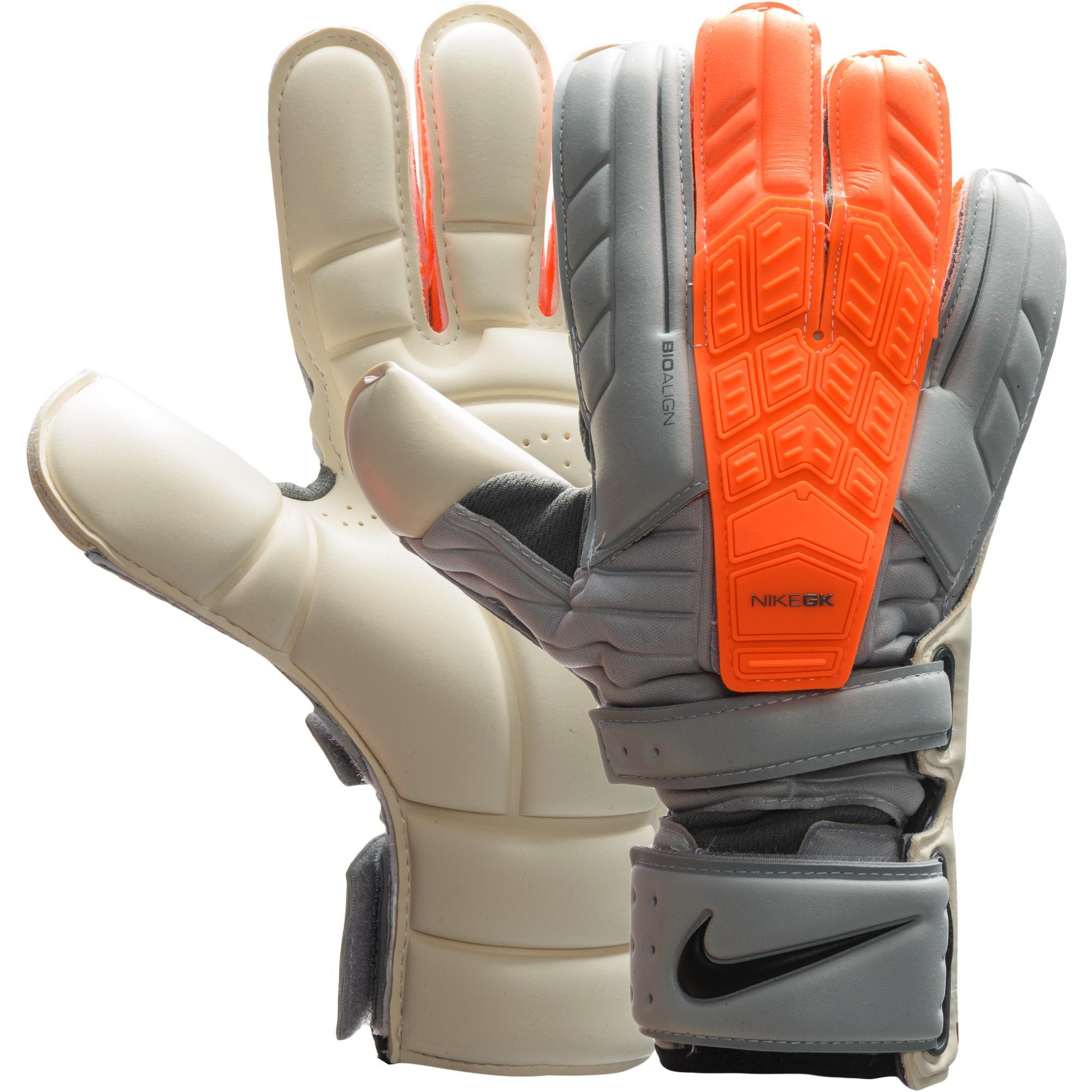 Nike Målvaktshandskar Confidence Grå/Orange