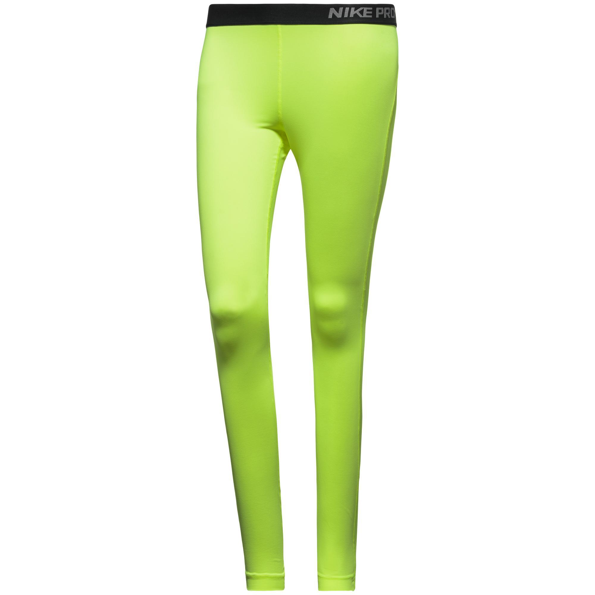 Nike Pro Tights Neon Dam