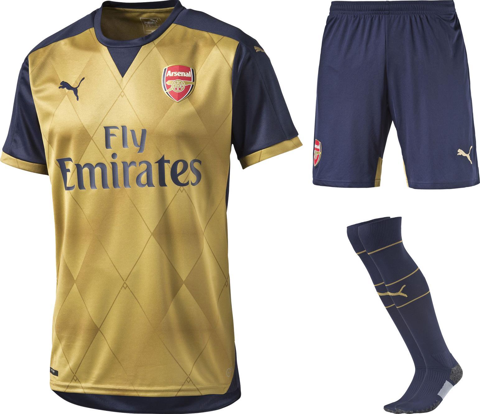 Arsenal Bortaställ 2015/16 Barn