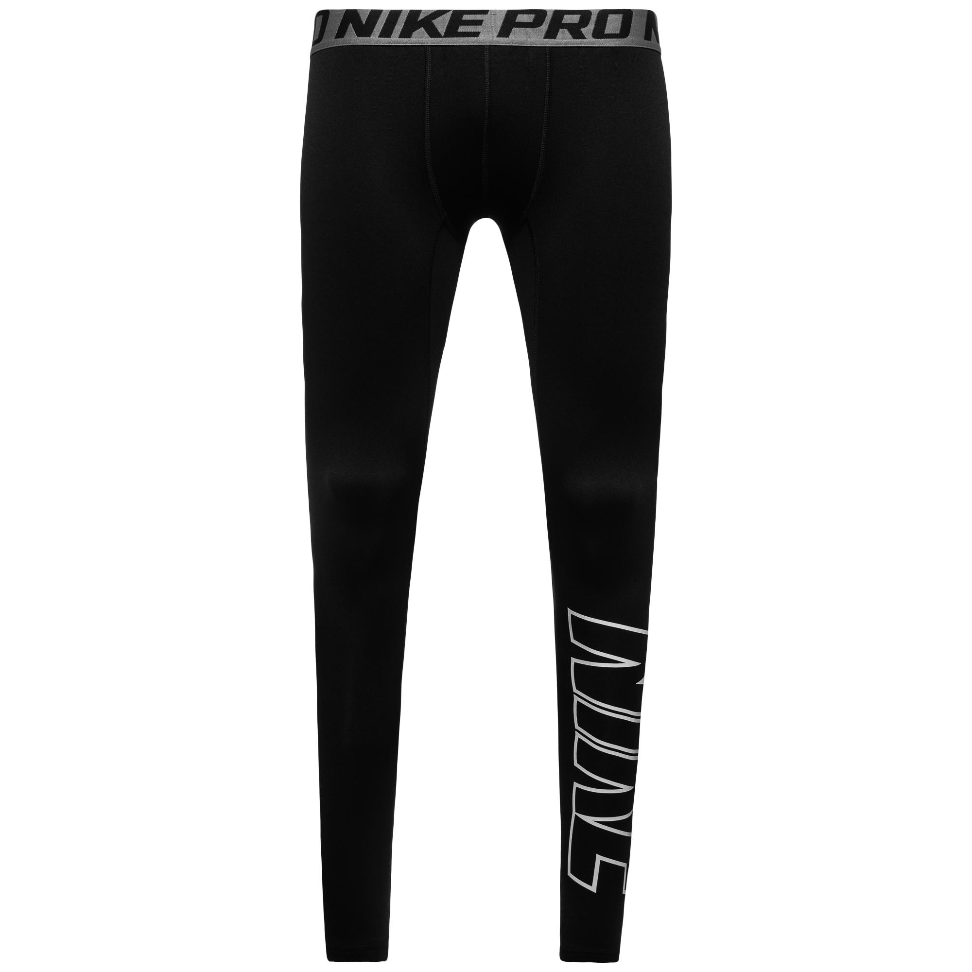 Nike Pro Hyperwarm Compression HBR Tights Svart Barn