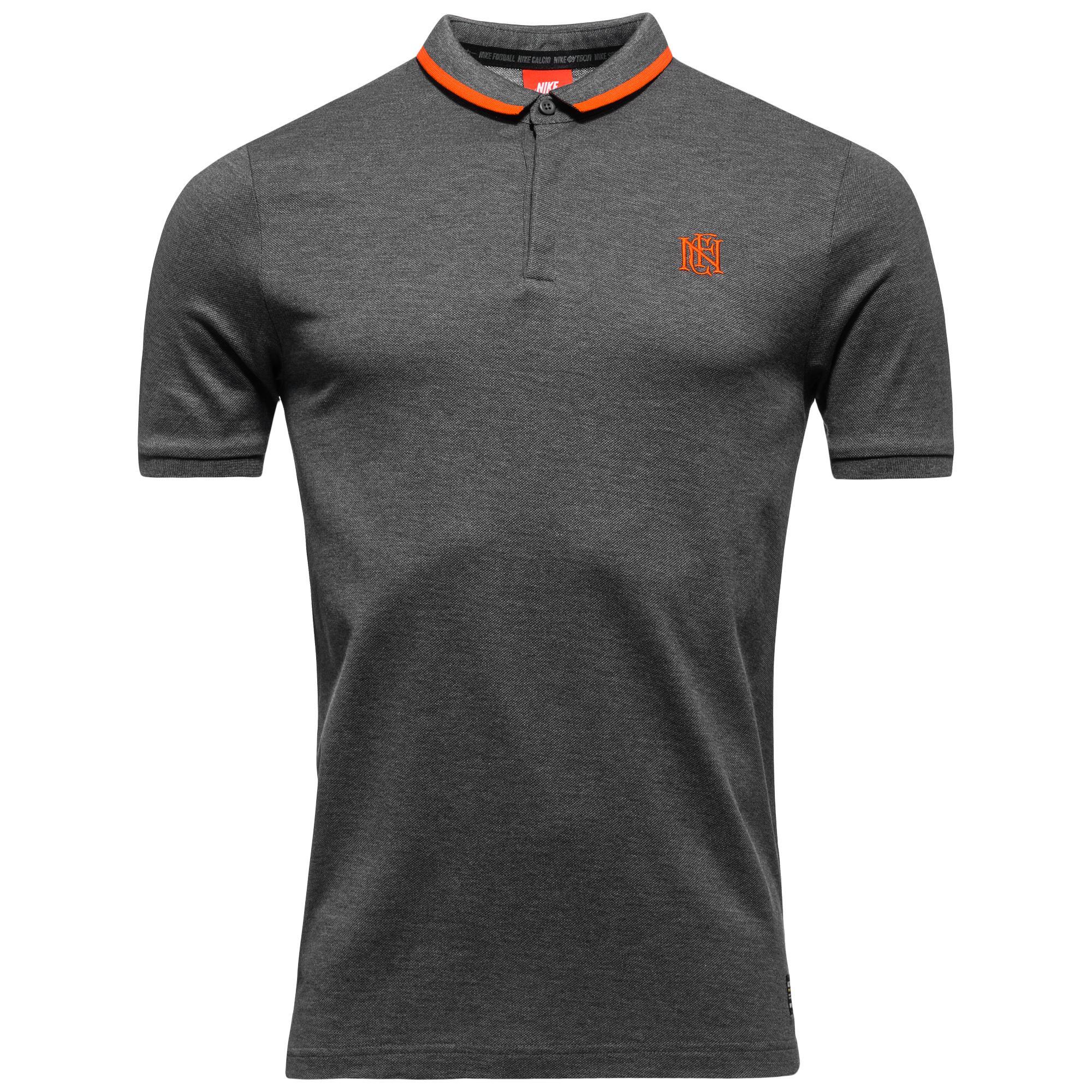 Nike F.C. Piké League Grå/Orange