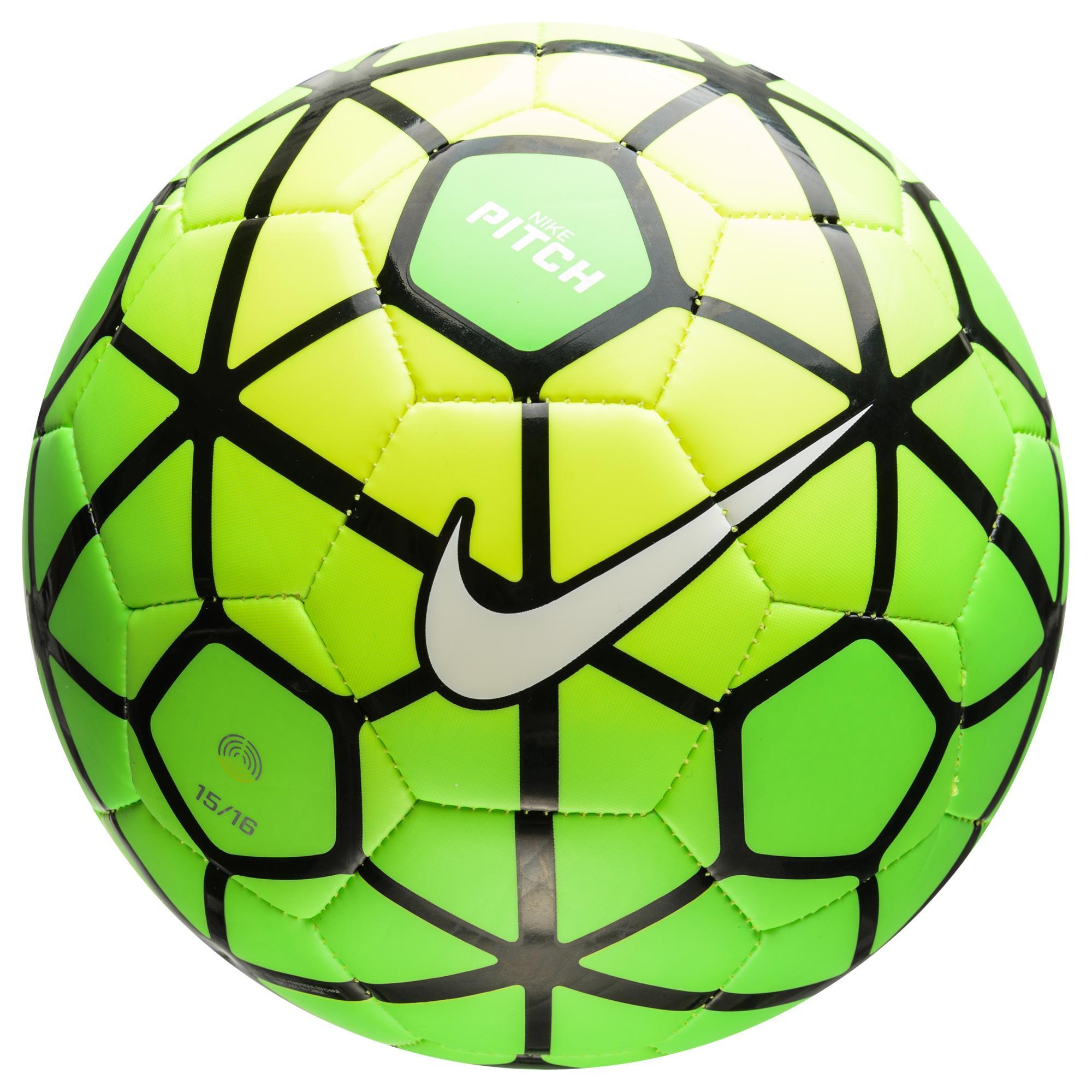Nike Fotboll Pitch Grön/Gul