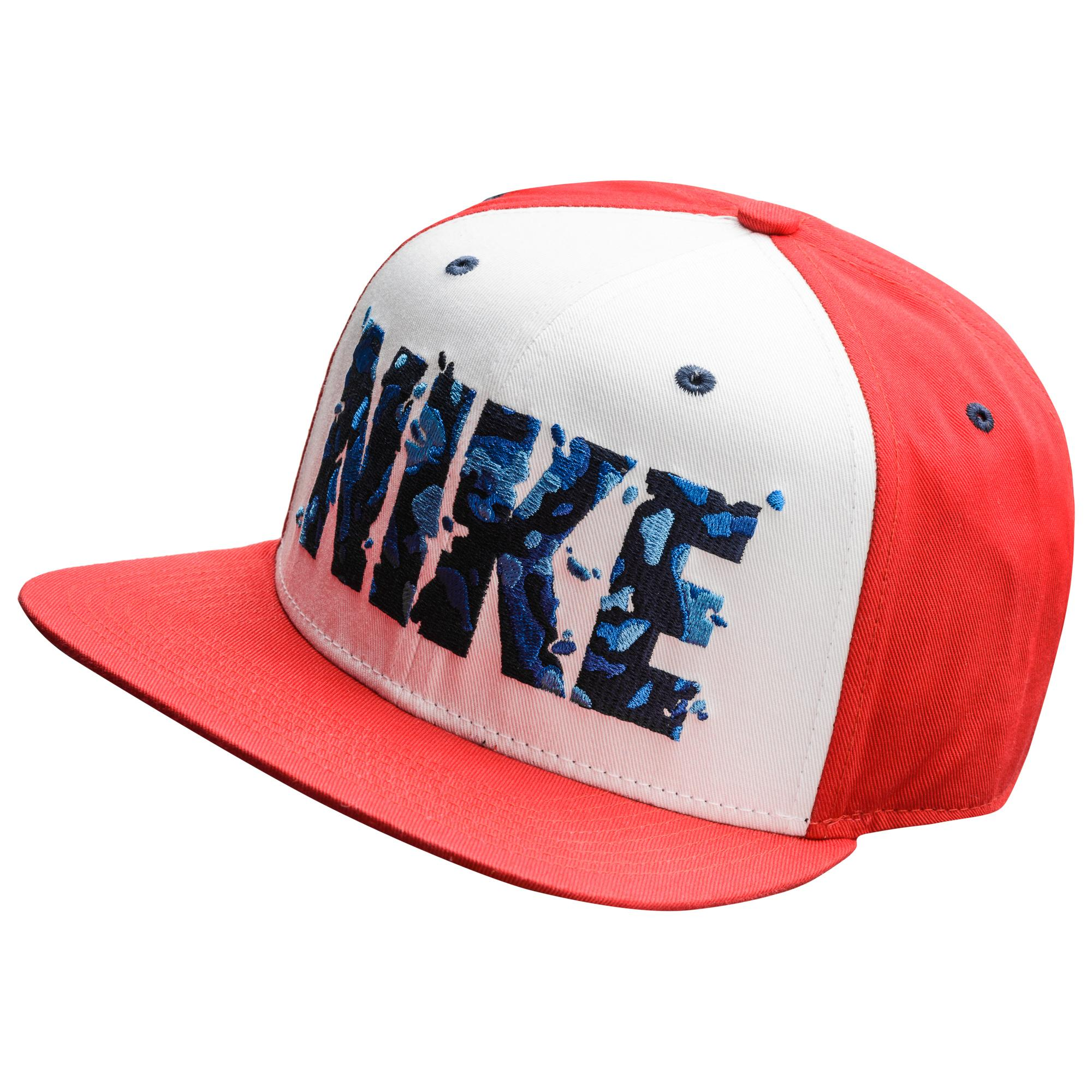 Nike Keps Snapback Camo Spill Pro Vit/Röd/Blå