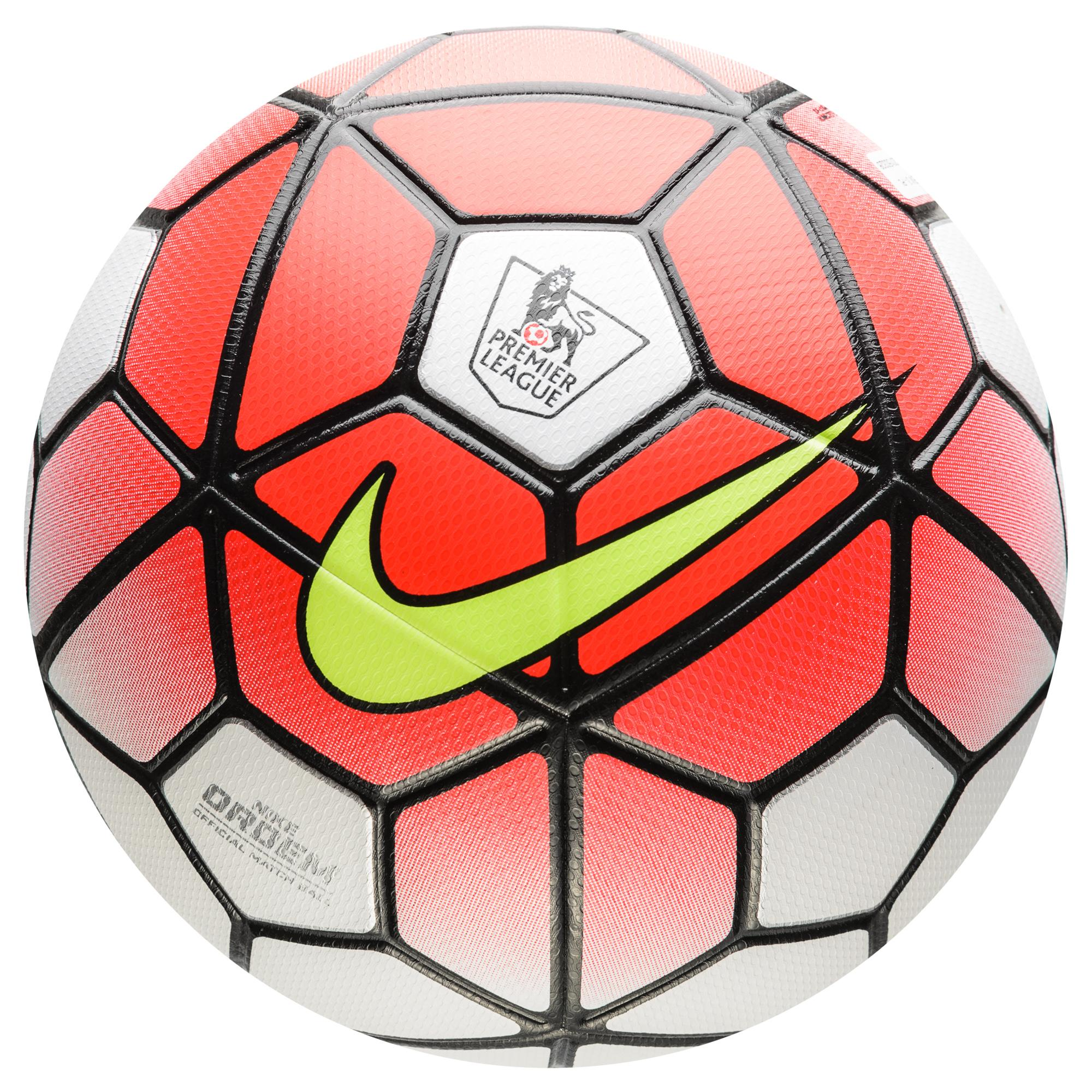 Nike Fotboll Ordem III EPL Premier League Röd/Vit/Svart