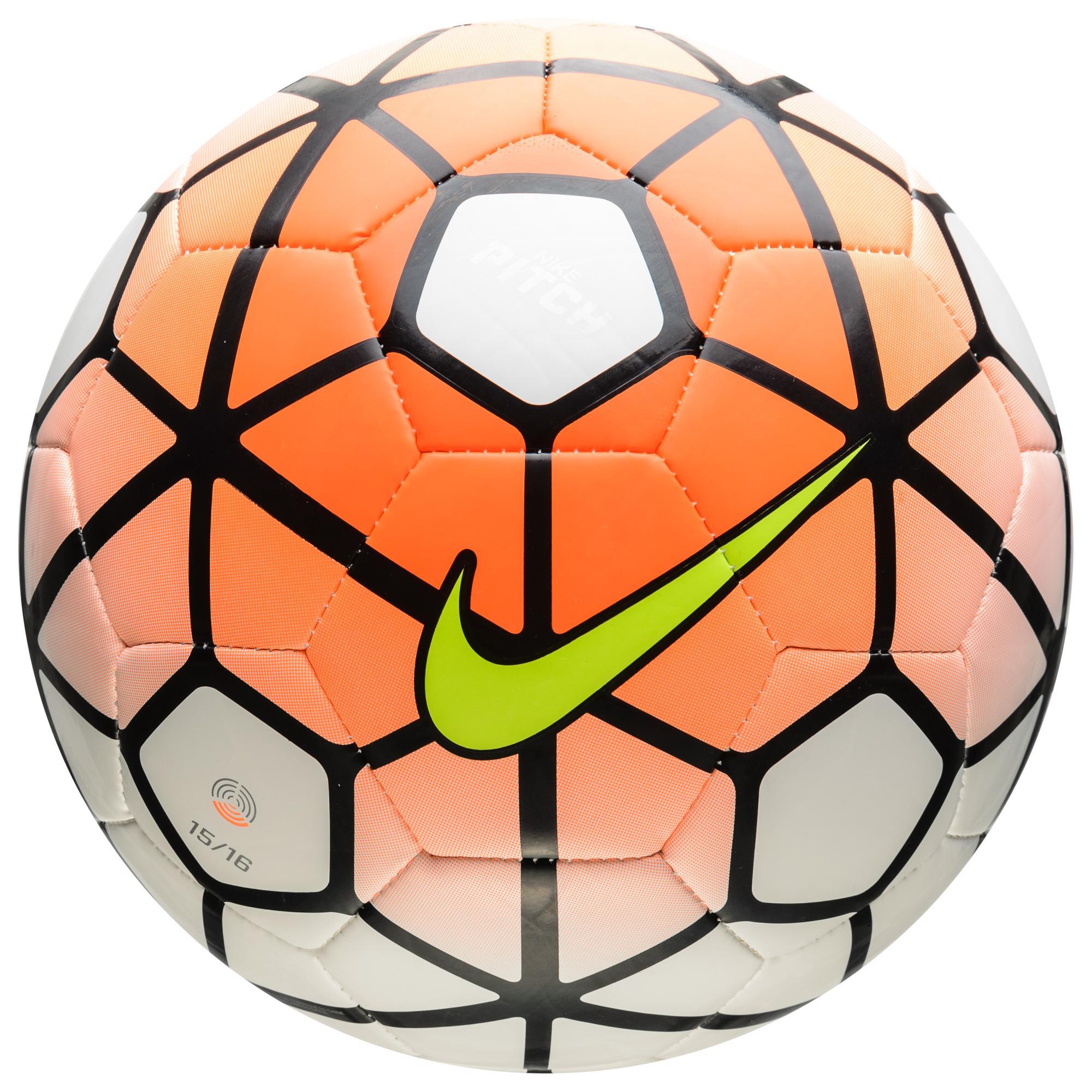 Nike Fotboll Pitch Orange/Vit/Svart