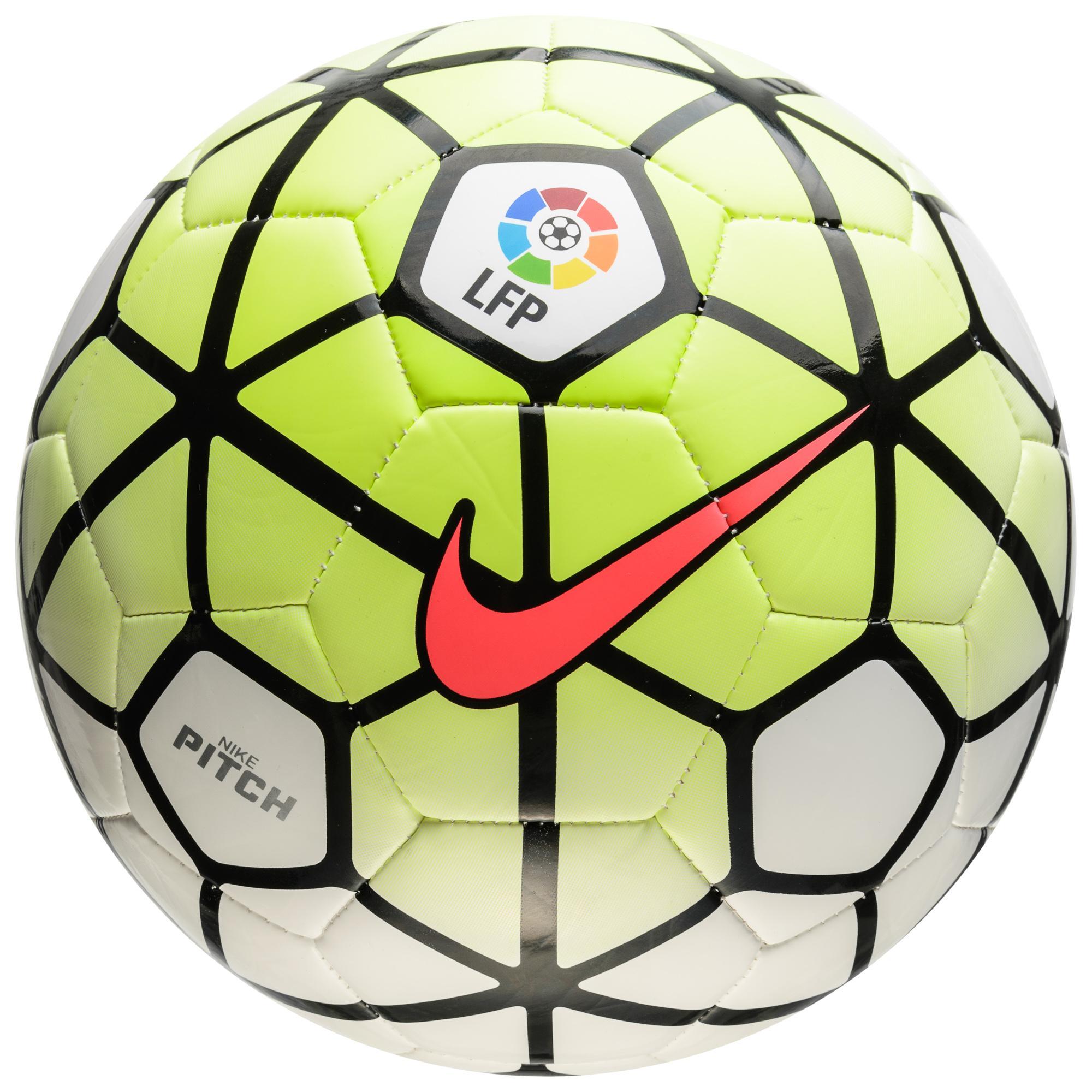 Nike Fotboll Pitch LFP La Liga Neon/Vit/Svart