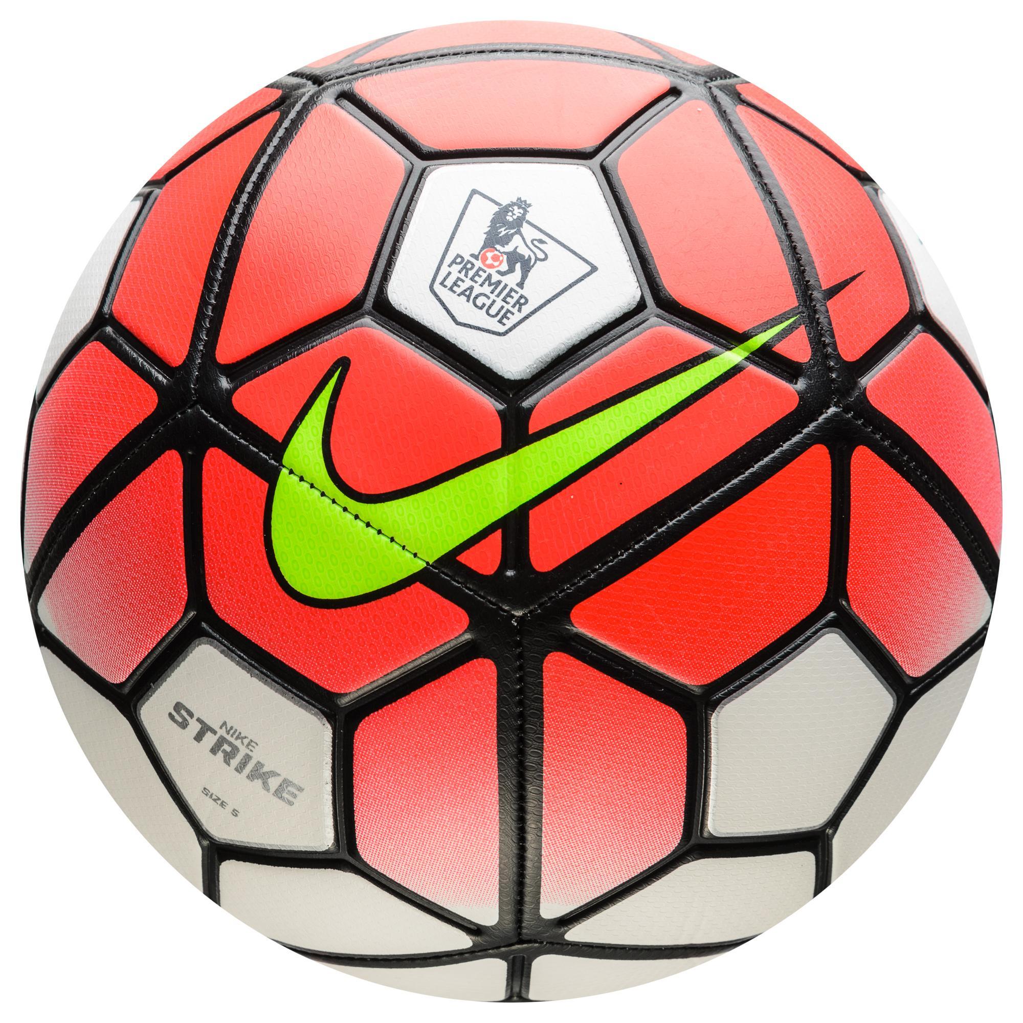 Nike Fotboll Strike EPL Premier League Röd/Vit/Svart
