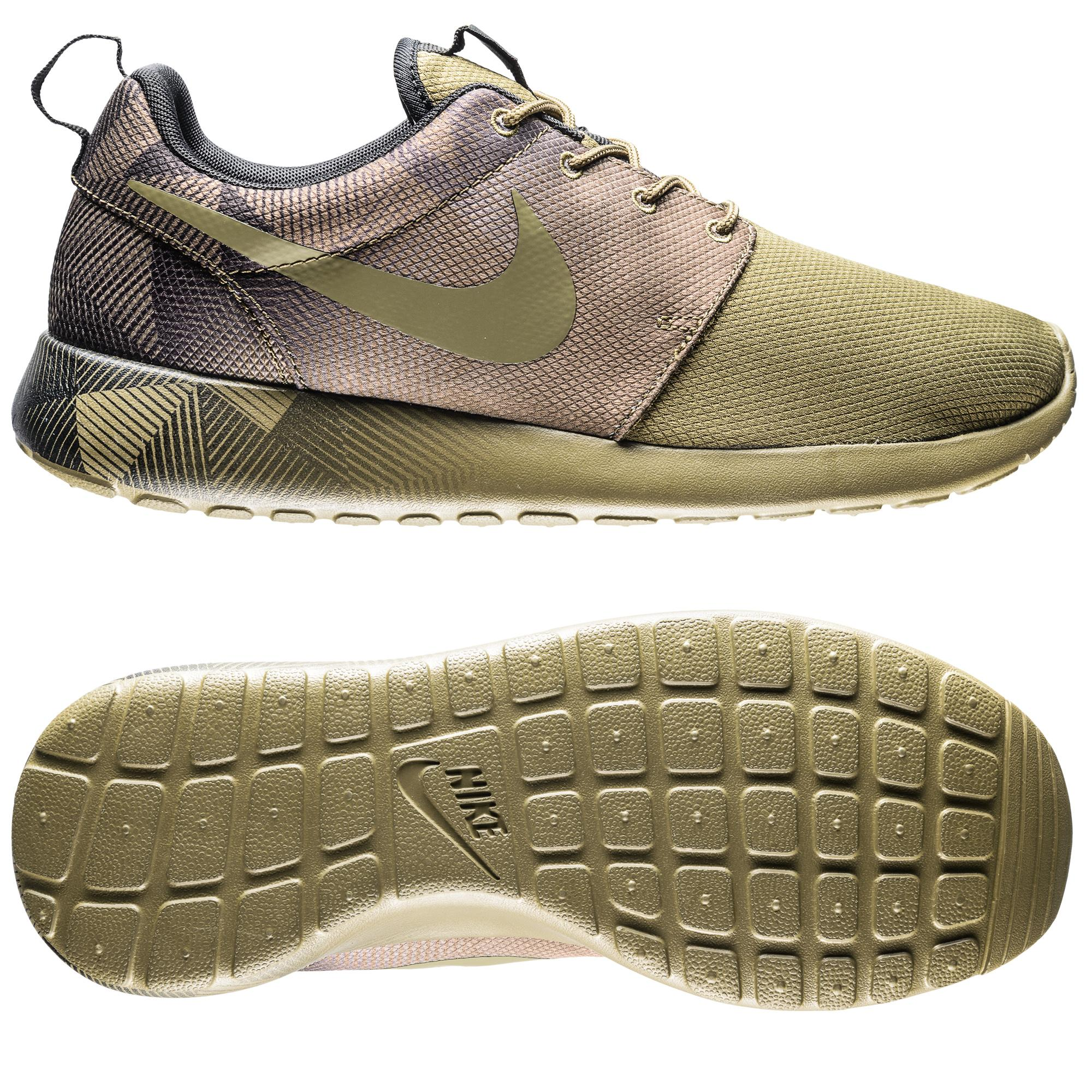 Nike Roshe One Print Guld