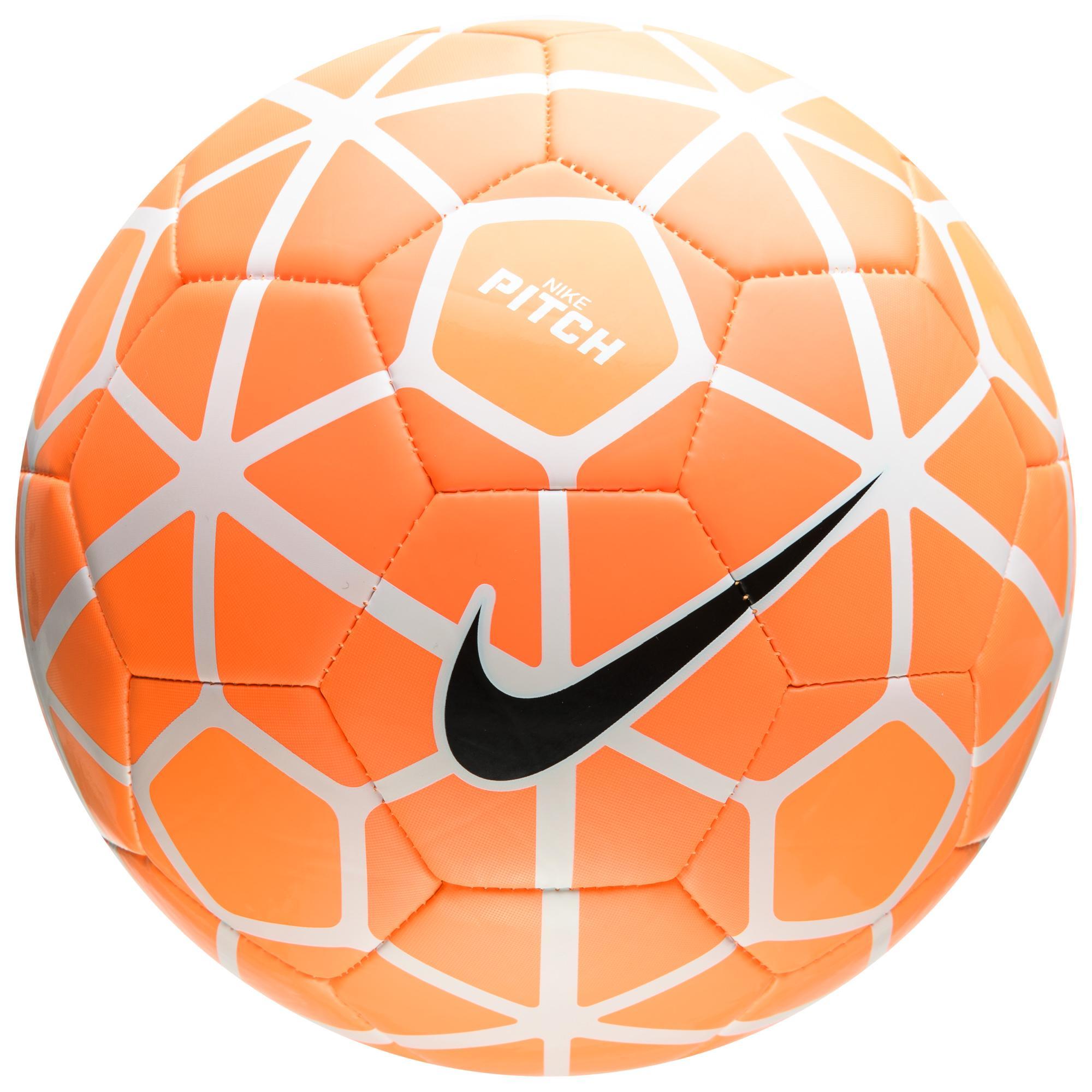 Nike Fotboll Pitch Orange/Vit