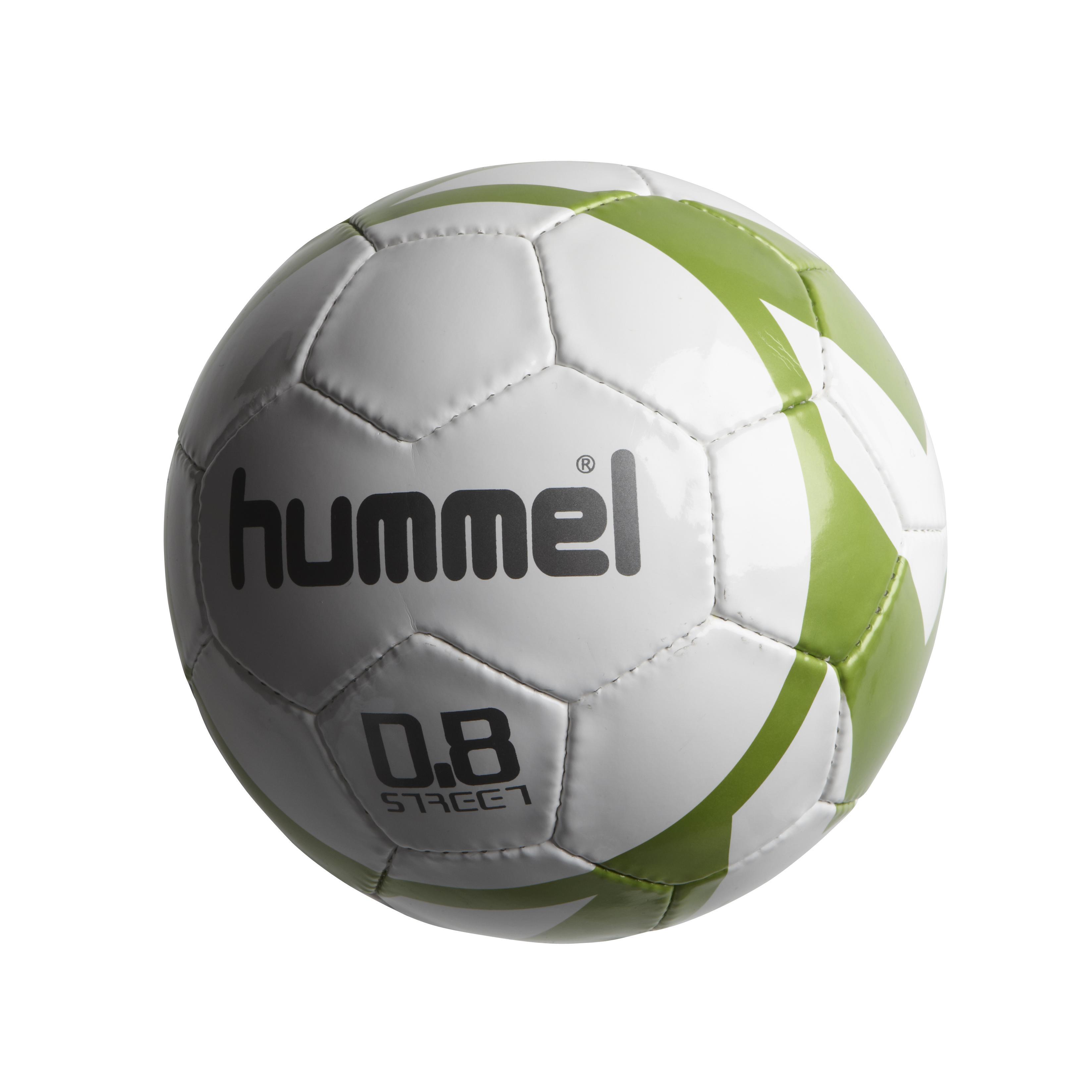 Hummel Fotboll 0.8 Street Vit/Grön