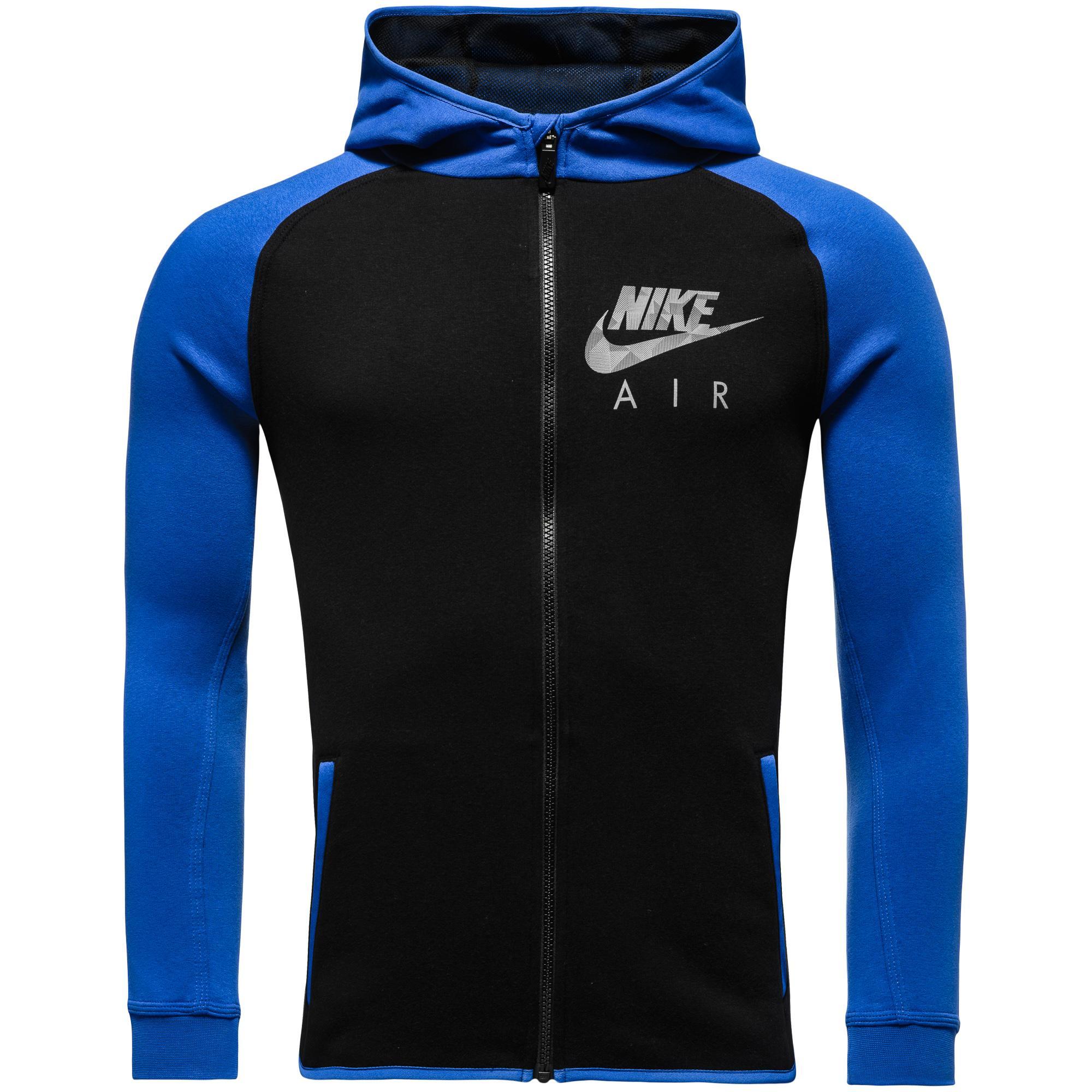 Nike Luvtröja Flash BF FZ Svart/Blå Barn