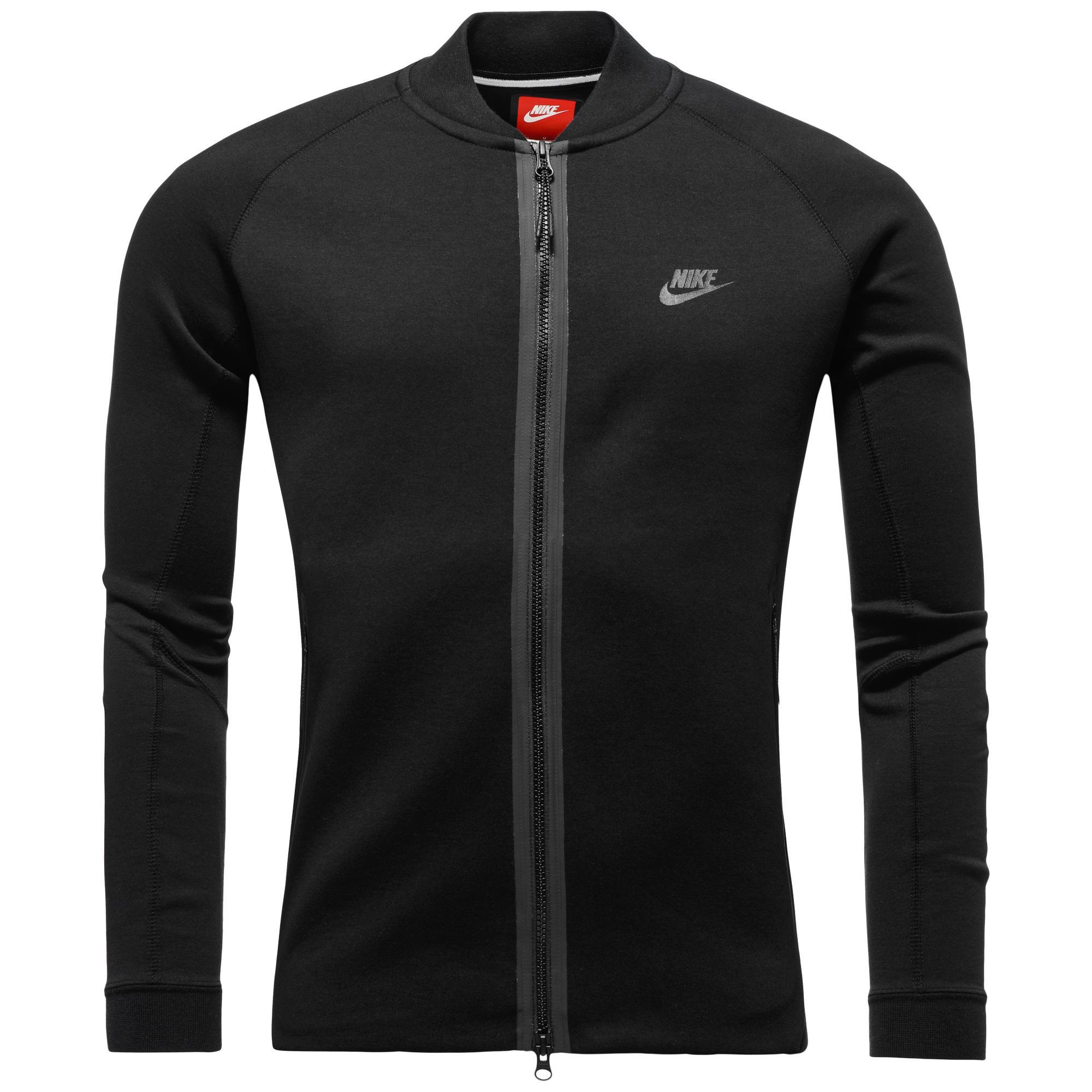 Nike Jacka Tech Fleece Varsity Svart