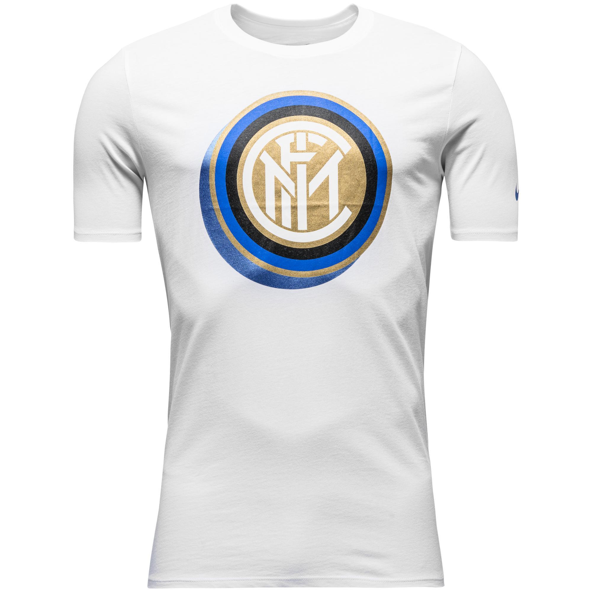Inter T-Shirt Core Crest Vit