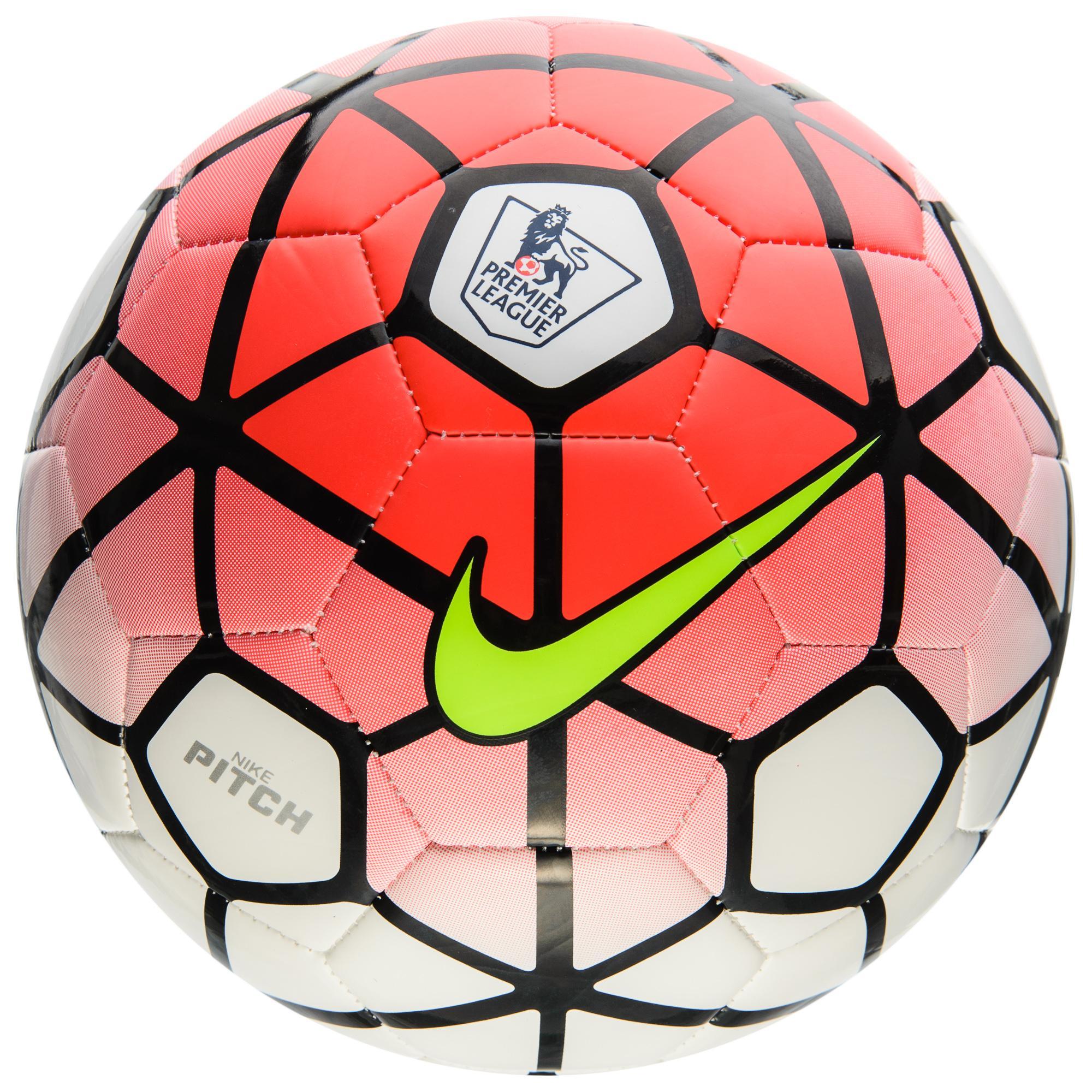 Nike Fotboll Pitch EPL Premier League Röd/Vit/Svart