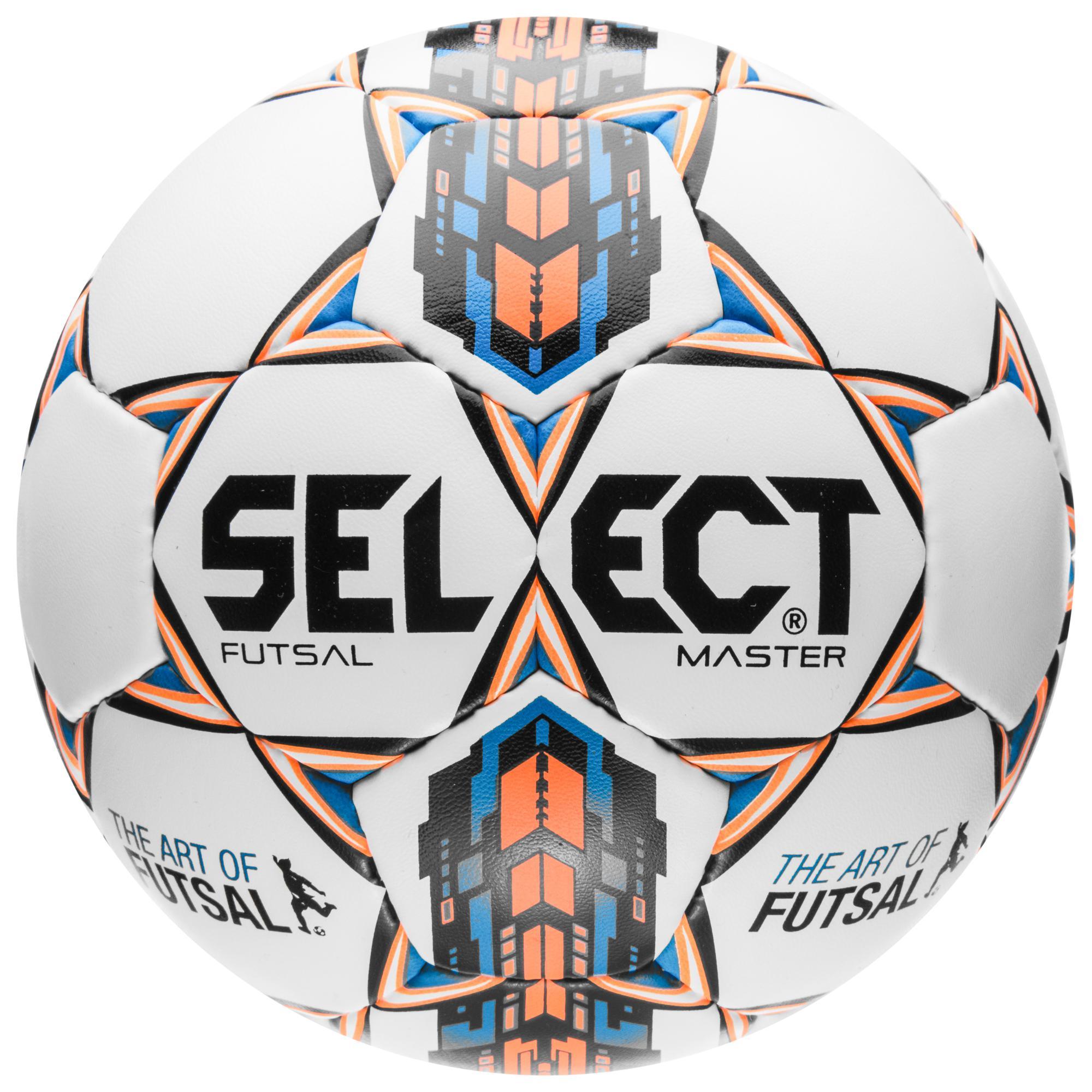 Select Fotboll Futsal Master Vit/Blå/Orange