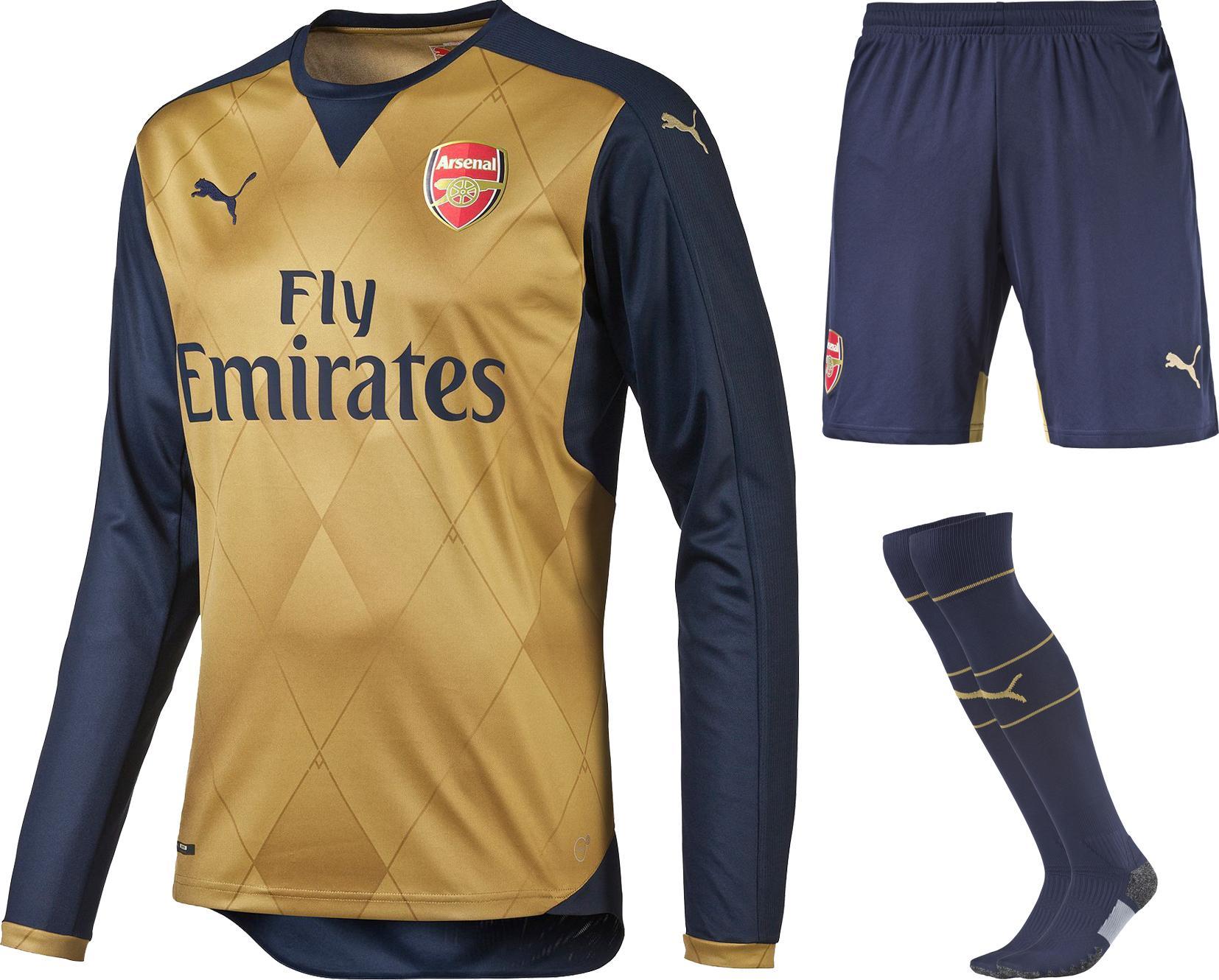Arsenal Bortaställ 2015/16 L/Ä Barn