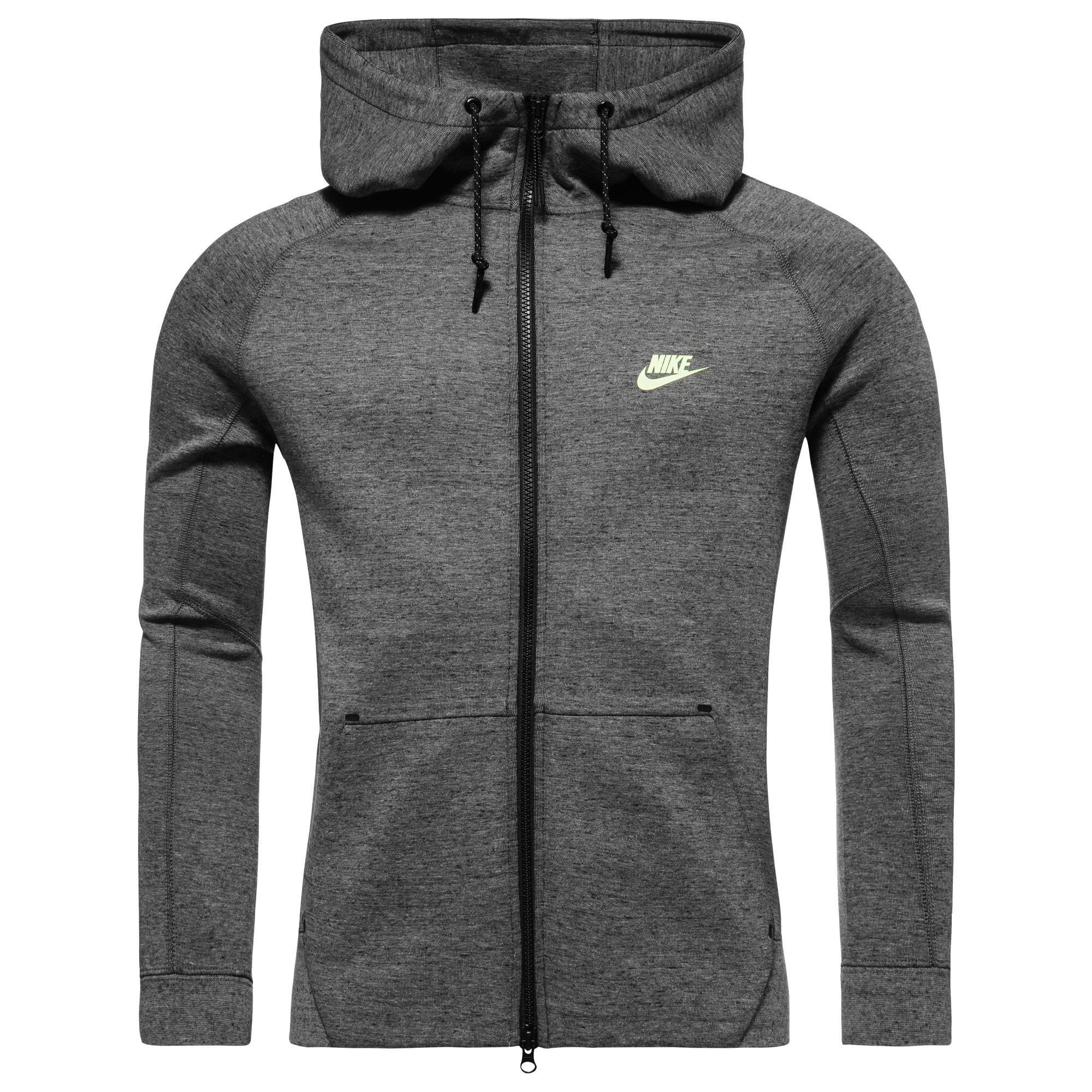 Nike Tech Fleece AW77 Grå/Svart/Neon