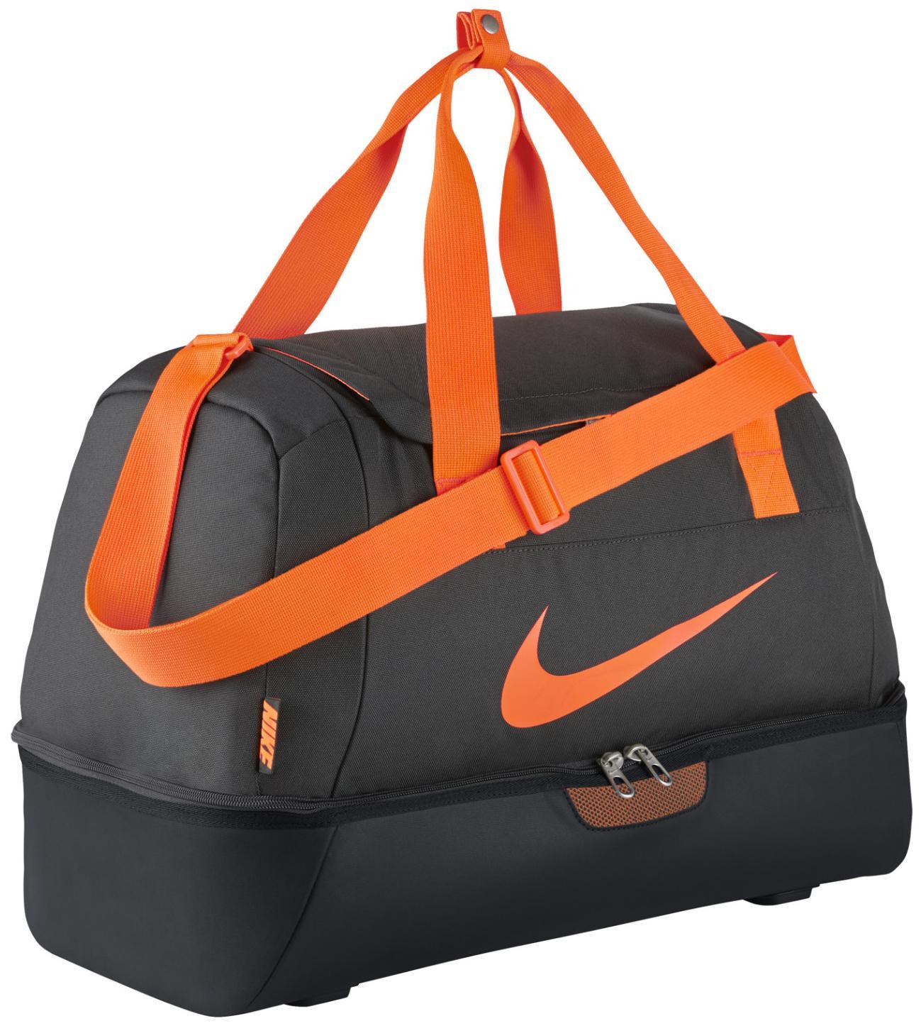 Nike Sportväska FB Hardcase Grå/Svart/Orange