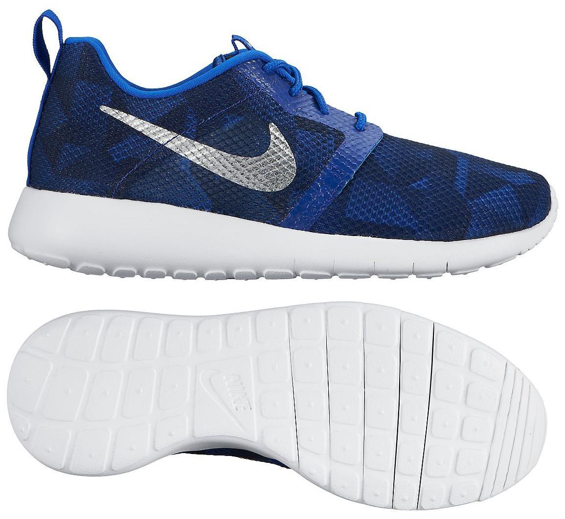 Nike Roshe One Flight Weight Blå/Navy/Vit Barn