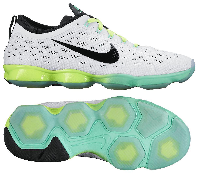 Nike Zoom Fit Agility Vit/Grön/Neon Dam