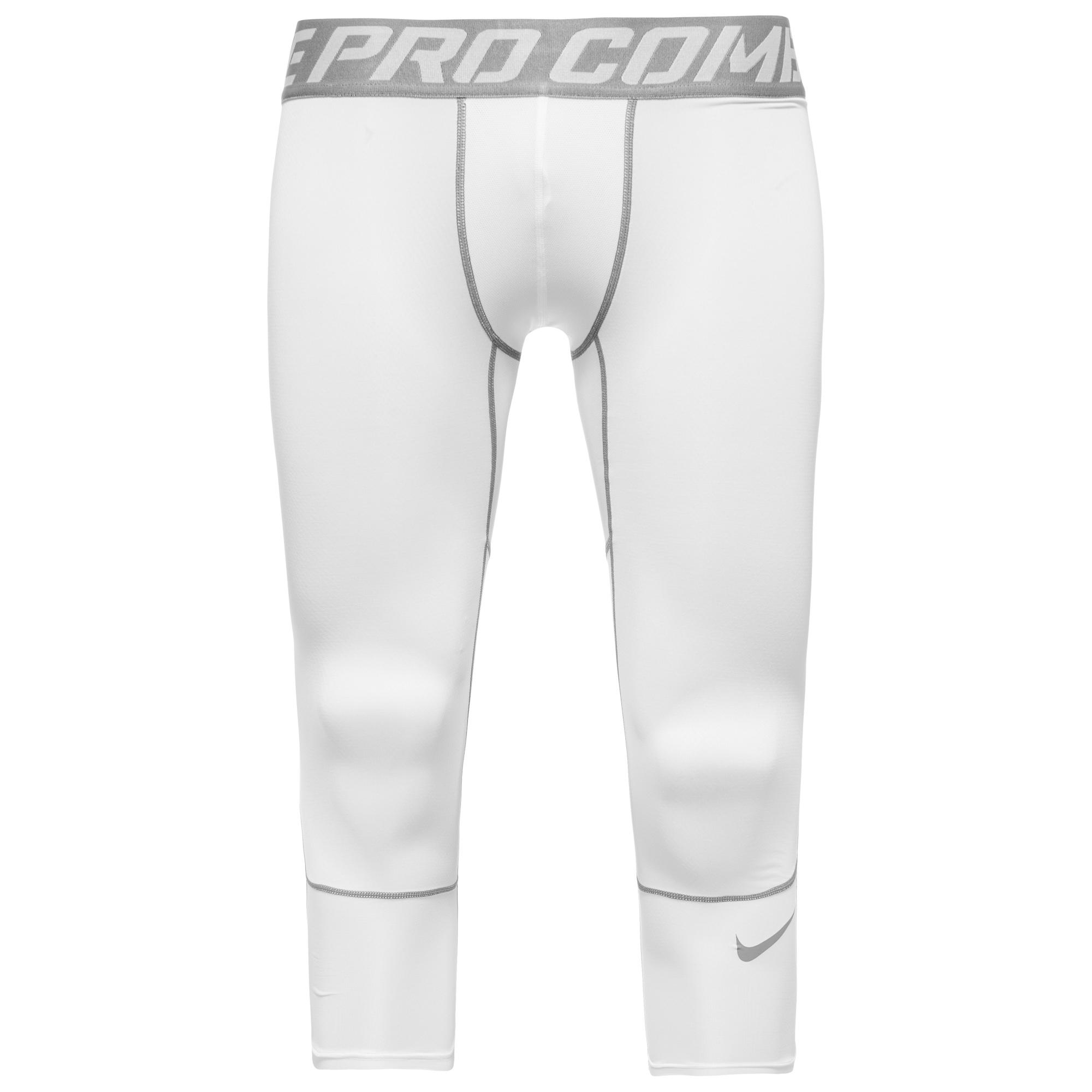 Nike Pro Hypercool Compression 3/4 Tights Vit/Grå