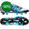 adidas - X 15.1 FG/AG Valkoinen/Sininen/Musta
