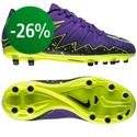 Nike - Hypervenom Phelon II FG Lila/Musta/Volt Lapset
