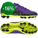 Nike - Hypervenom Phelon II AG Lila/Musta/Neon Lapset