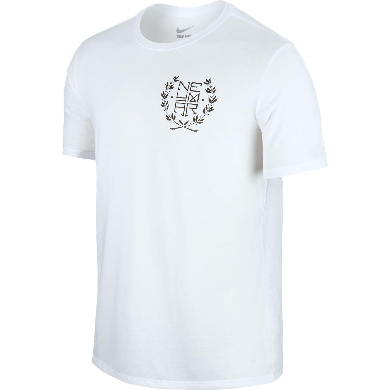 Nike - T-Shirt Neymar Logo Hvid